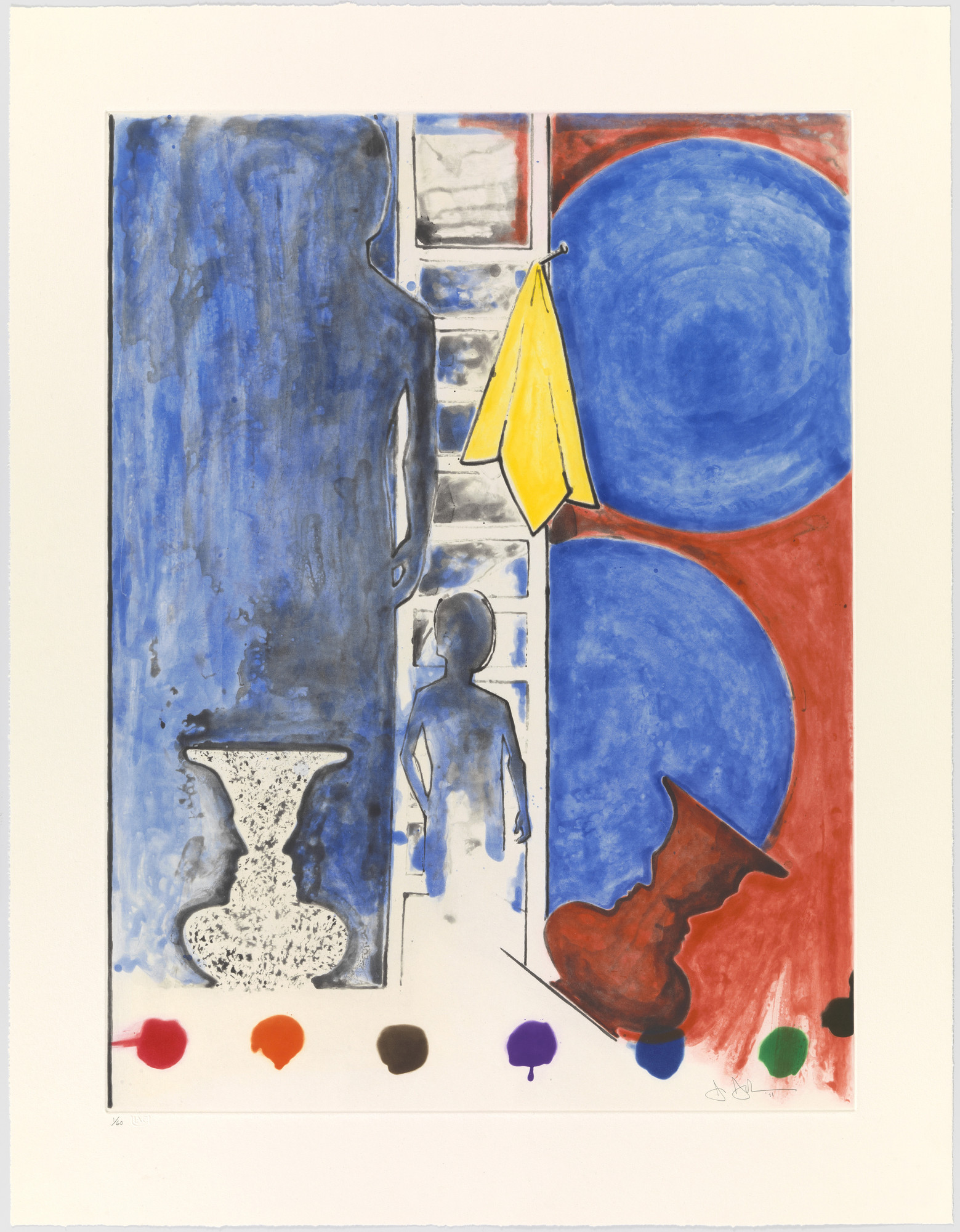 Jasper Johns. Untitled. 2011