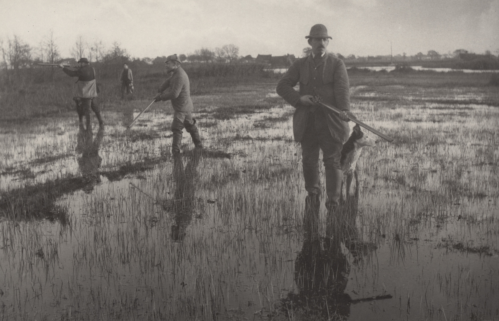Peter Henry Emerson, T. F. Goodall. Snipe-Shooting from Life and Landscape on the Norfolk Broads (London, 1886). c. 1885
