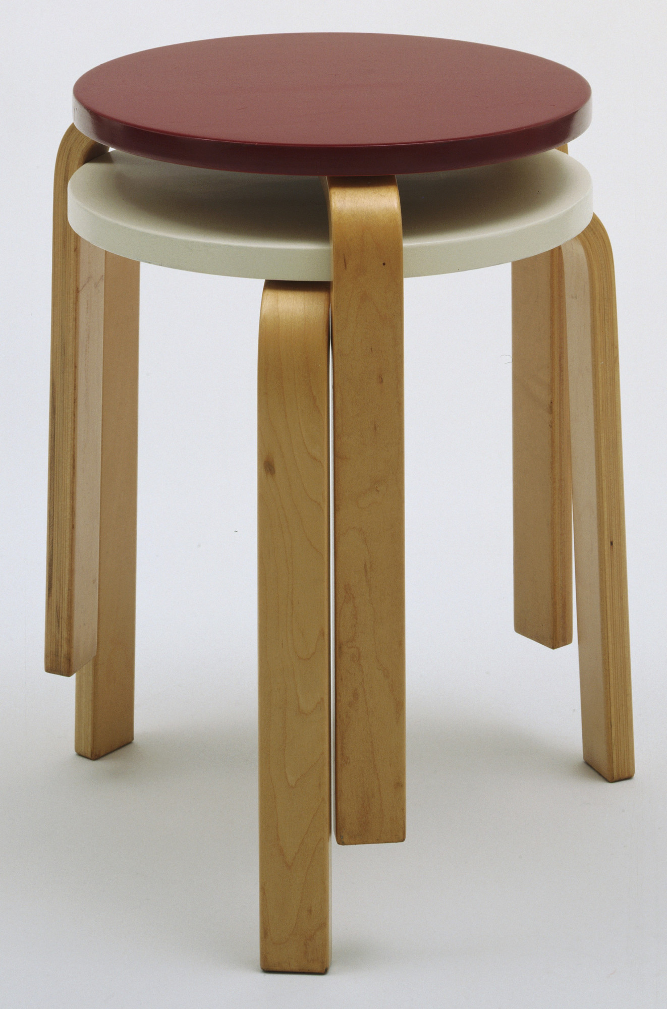 Alvar Aalto. Stacking Stools (model 60). 1932-33