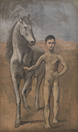 Pablo Picasso. Boy Leading a Horse. Paris, 1905-06