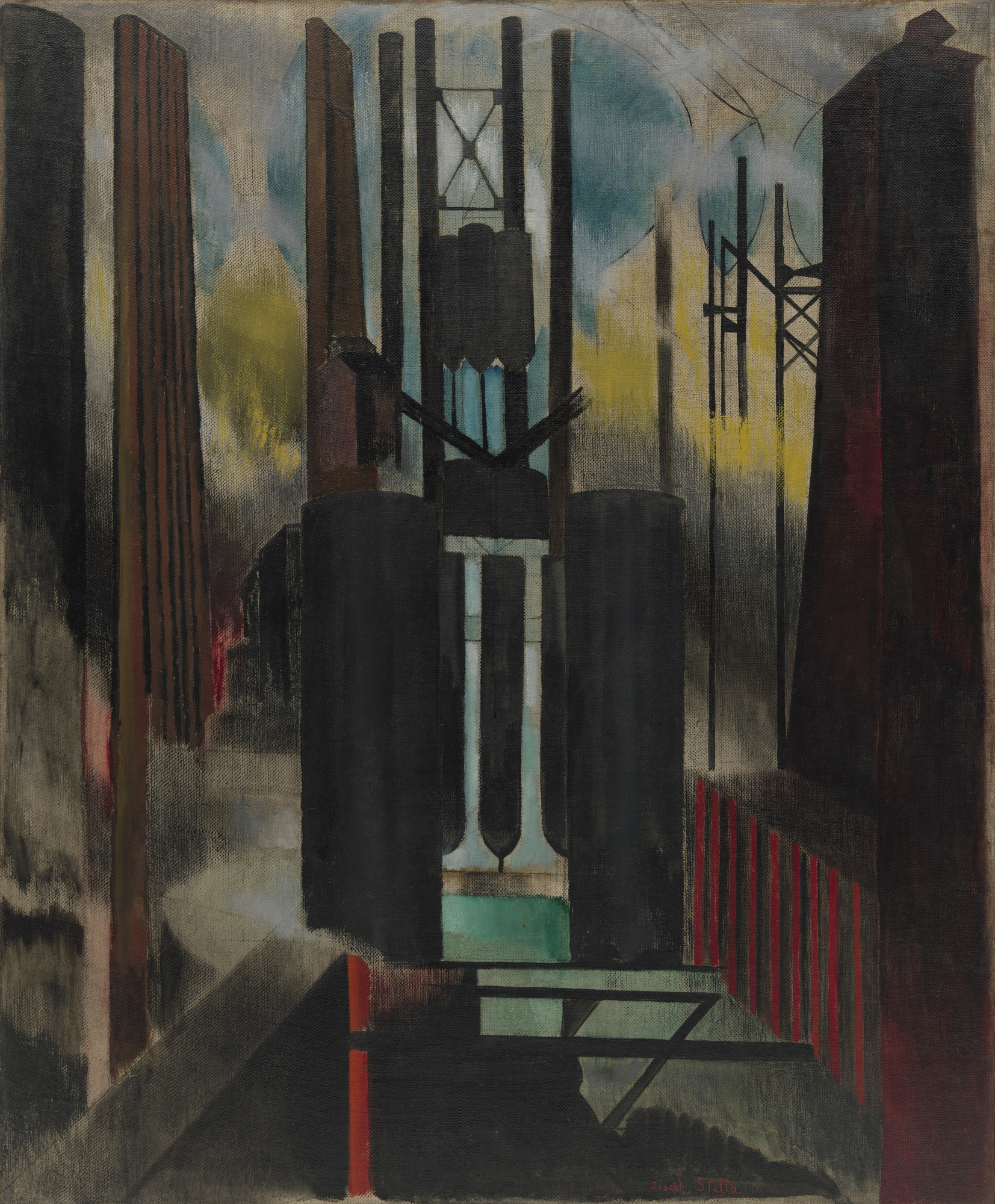 Joseph Stella. Factories. 1918
