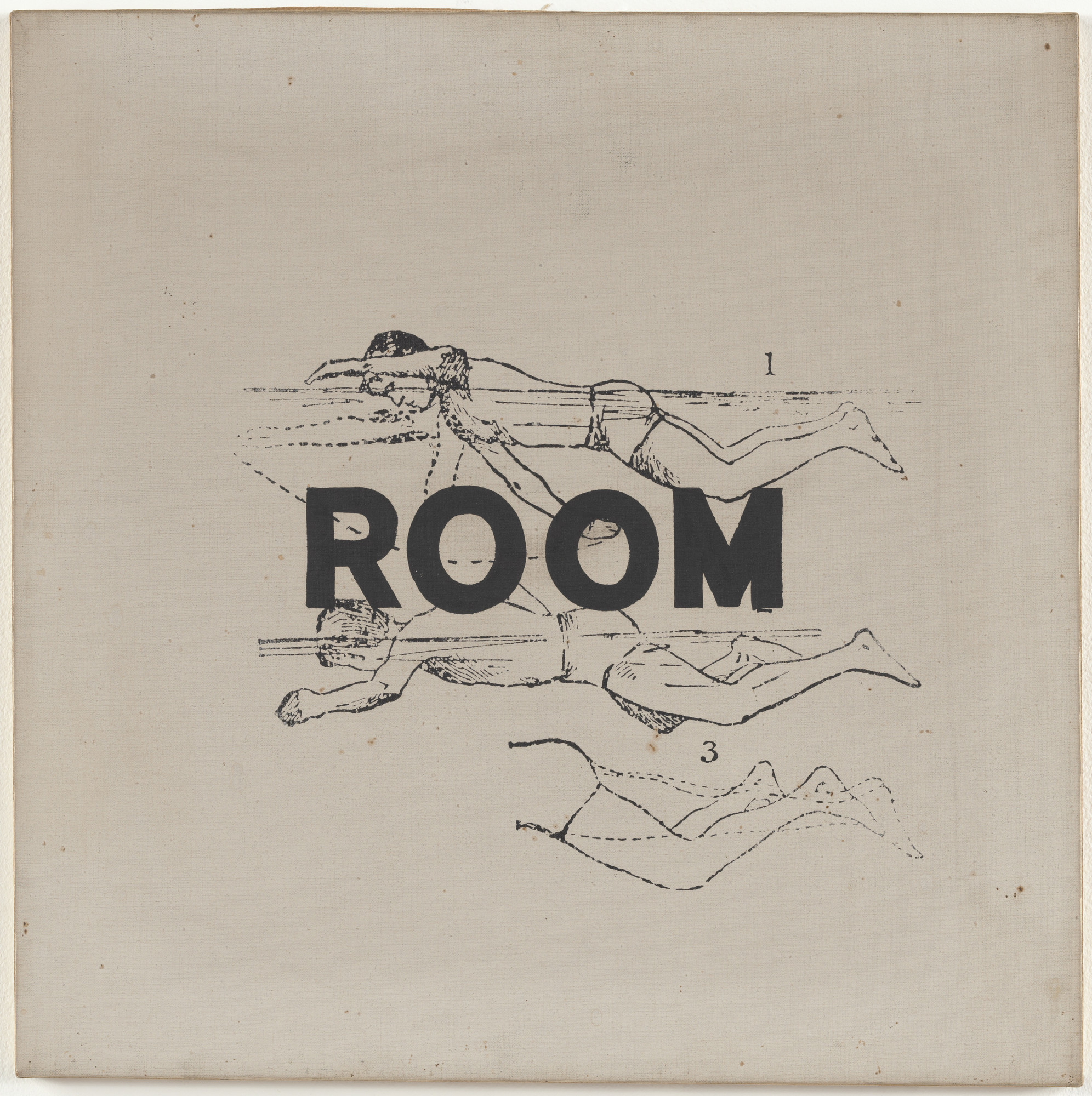 George Brecht, Alison Knowles. Room. c. 1960