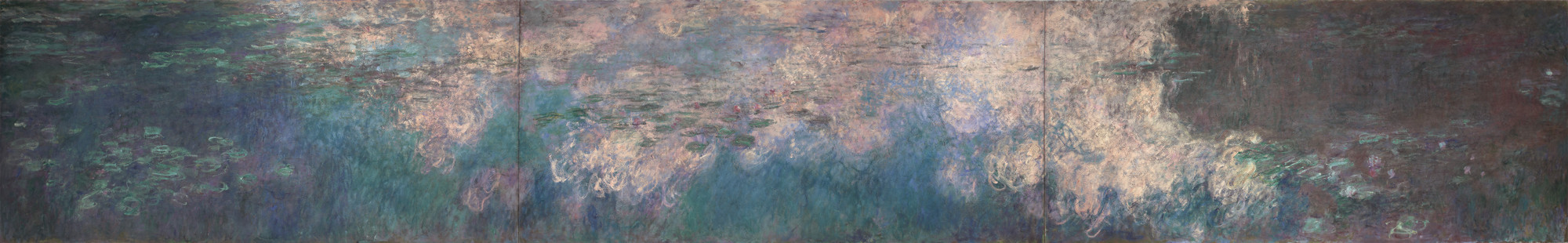 Claude Monet. Water Lilies. 1914-26