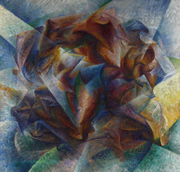 Umberto Boccioni. Dynamism of a Soccer Player. 1913