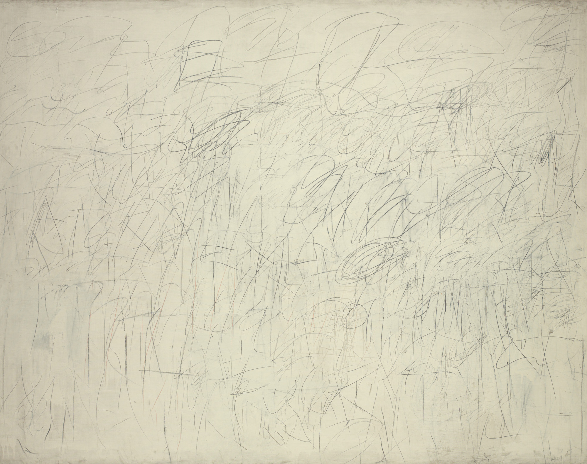 Cy Twombly. Academy. New York 1955