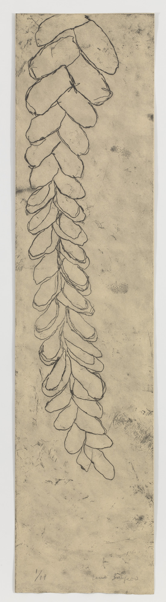 Louise Bourgeois. The Fall. 2007