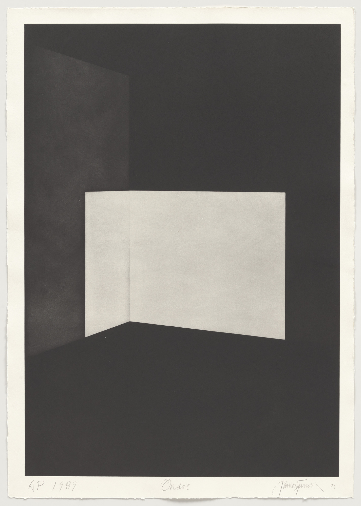 James Turrell. Ondoe from First Light. 1989-90
