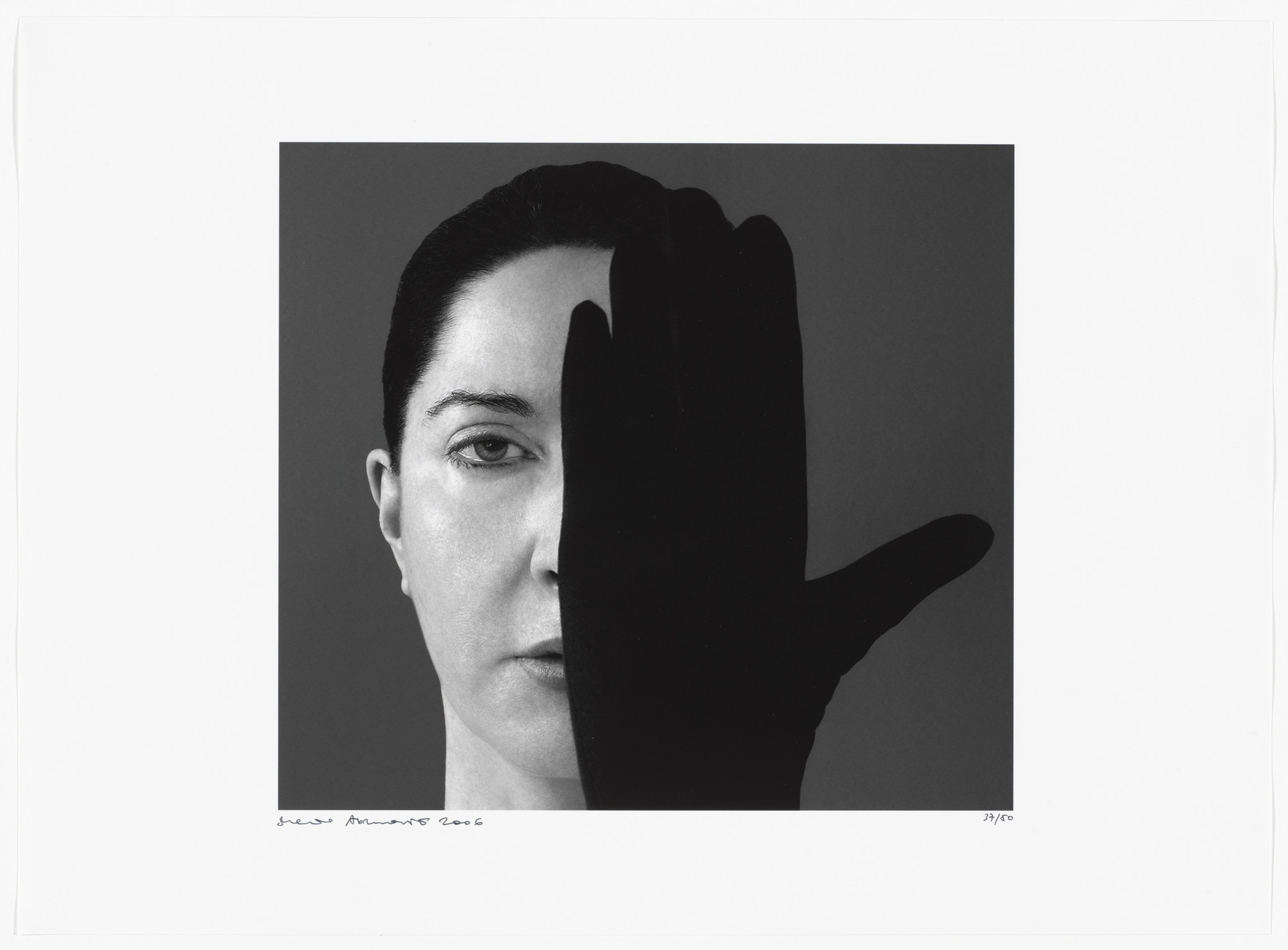 Marina Abramović. Light Side/Dark Side from 2006: Trance/Borders. 2006