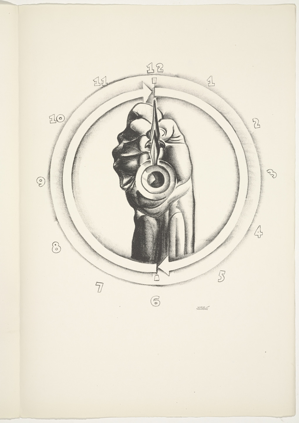 Hugo Gellert. Plate (folio 72) from 'Capital' in Pictures. 1933