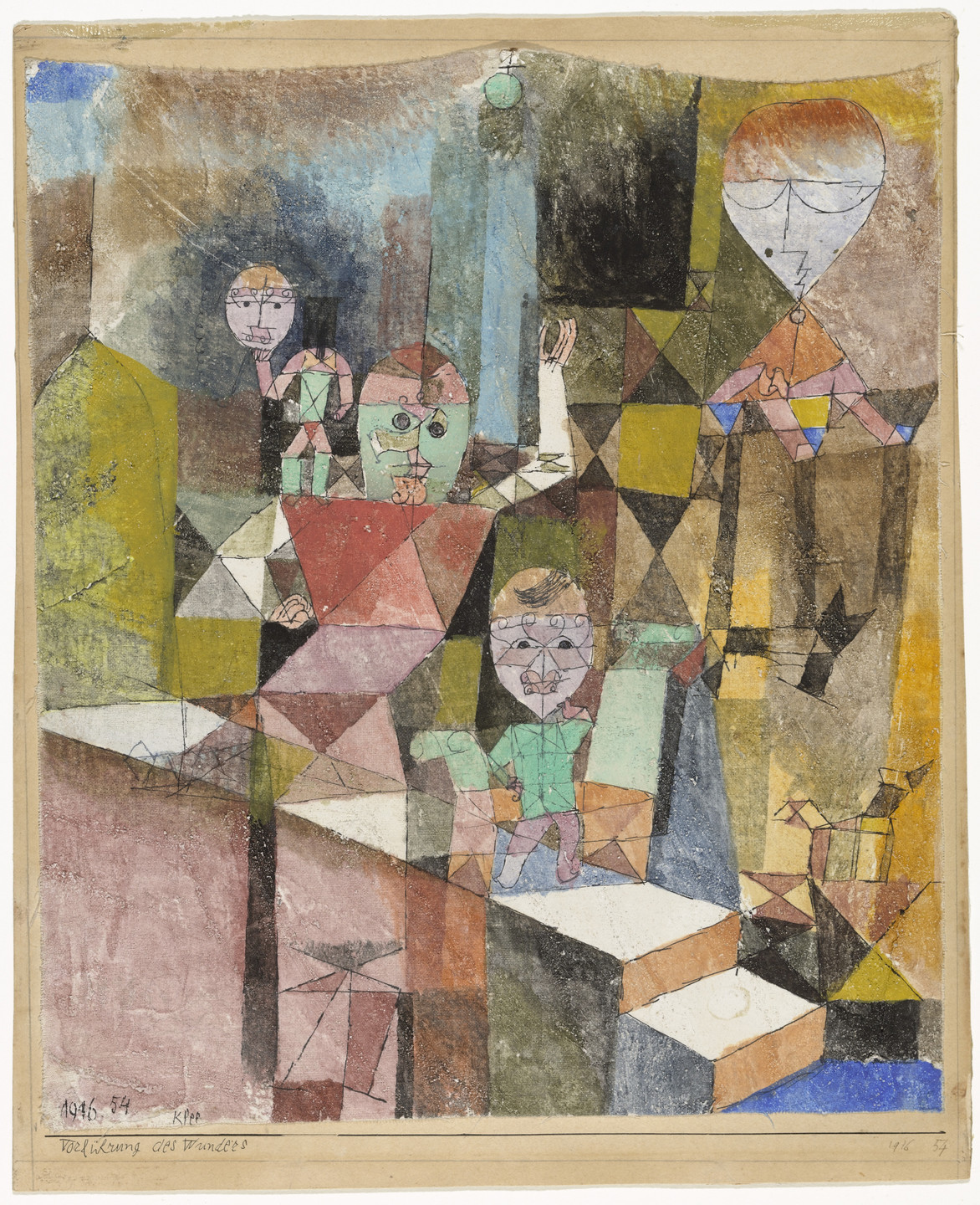 Paul Klee. Introducing the Miracle. 1916
