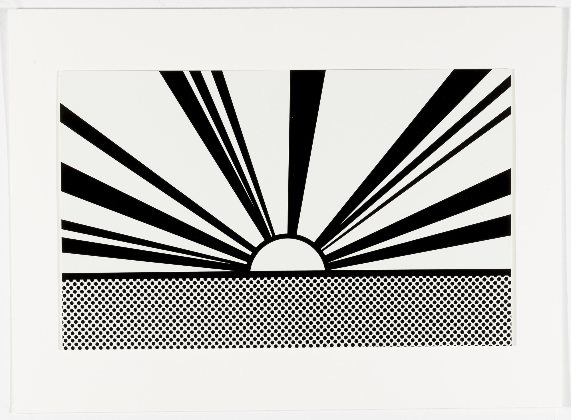 Roy Lichtenstein. Landscape 4 from Ten Landscapes. 1967