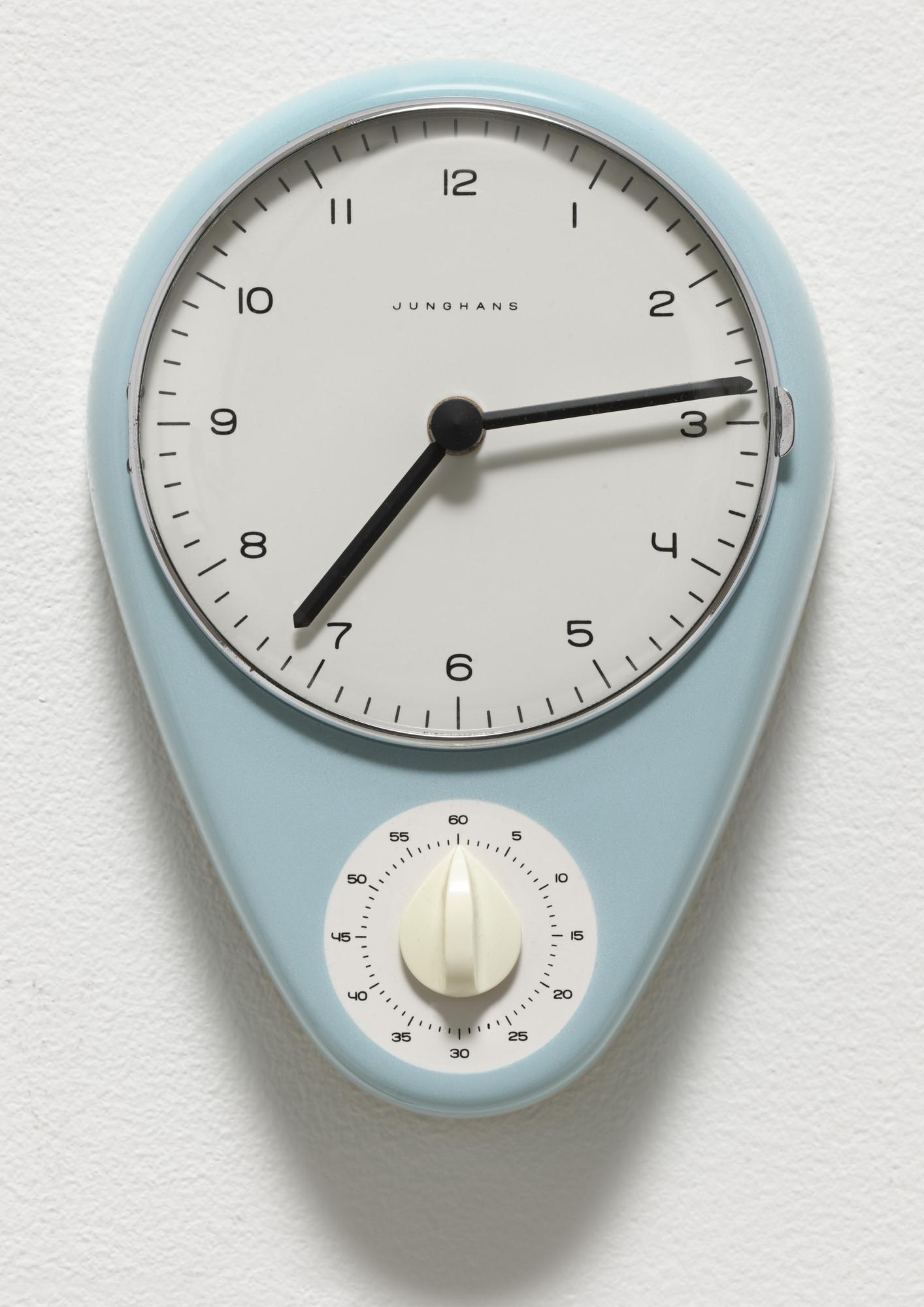 Awesome Max Bill Kitchen Clock 19561957 Moma Download Free Architecture Designs Rallybritishbridgeorg