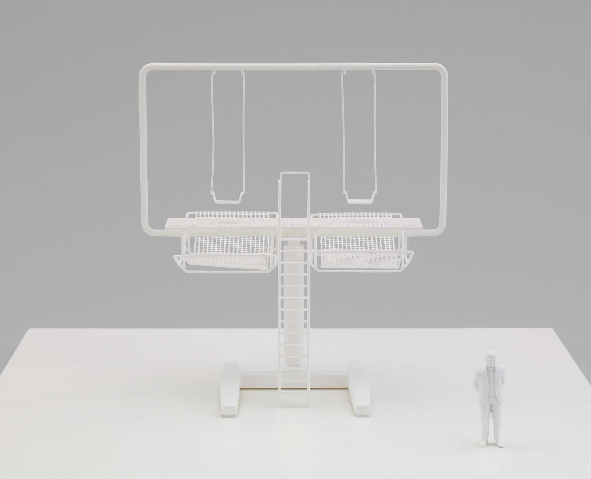 Didier Faustino. Double Happiness (Model of the installation at the Shenzhen-Hong Kong Bi-City Biennale of Urbanism and Architecture). 2009
