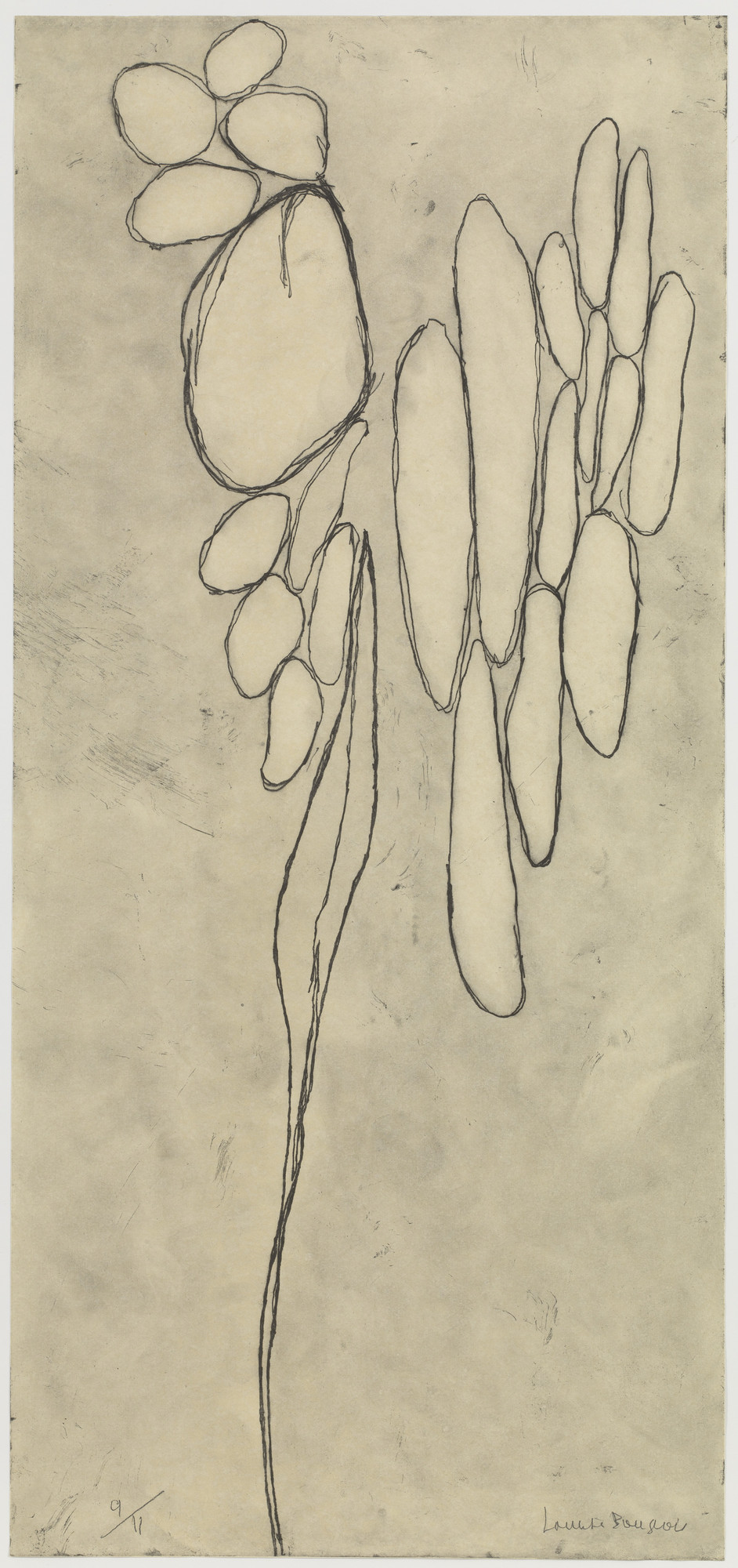 Louise Bourgeois. The Awakening. 2007