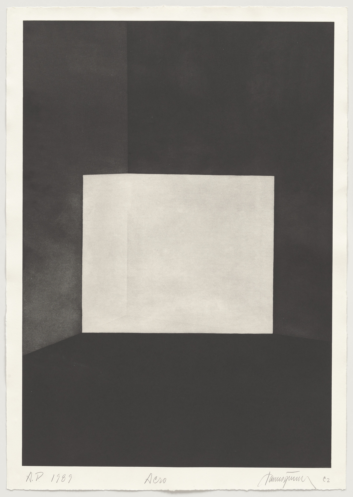 James Turrell. Acro from First Light. 1989-90