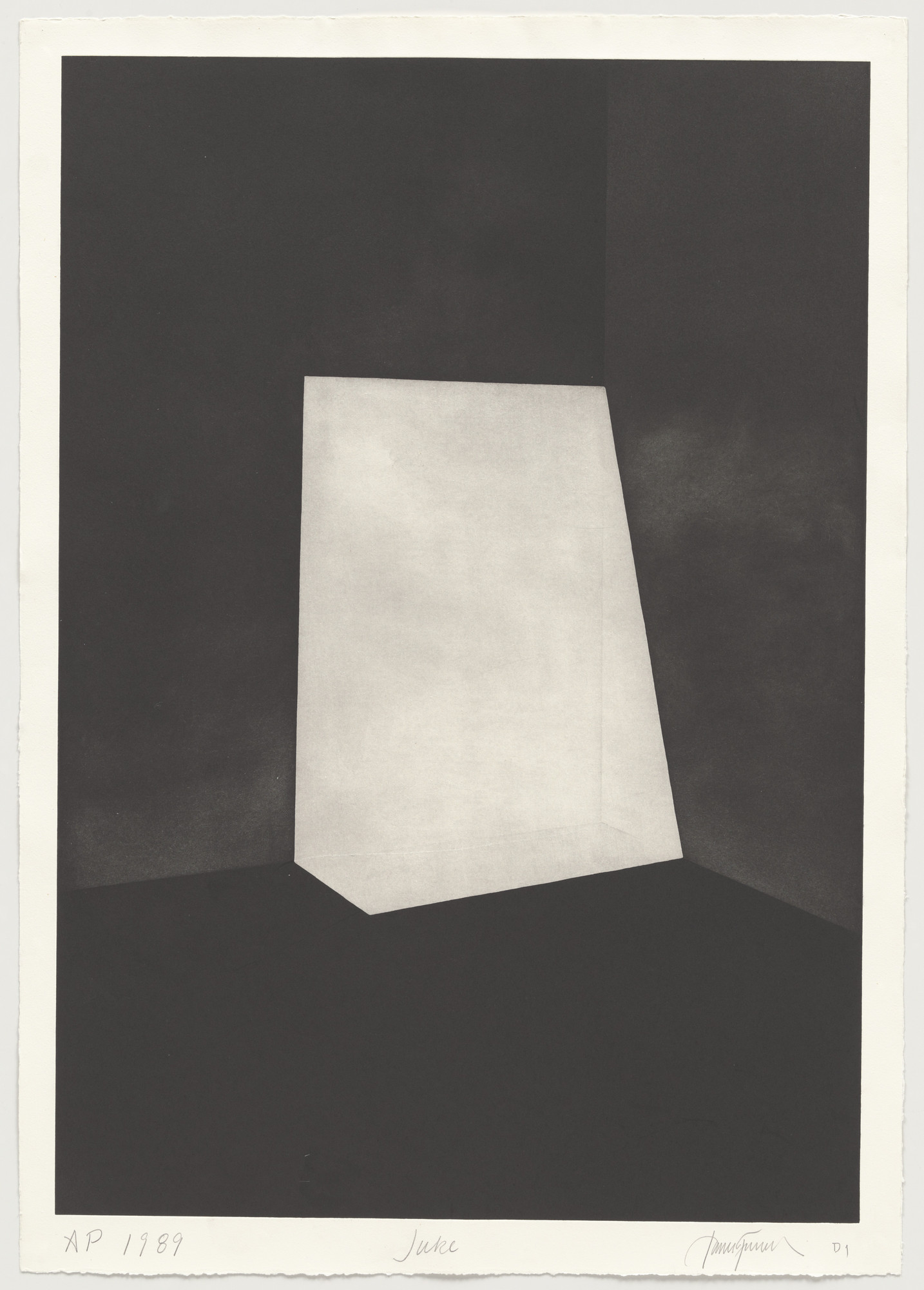 James Turrell. Juke from First Light. 1989-90