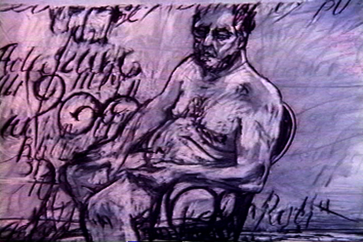 William Kentridge. Automatic Writing from Point of View: An Anthology of the Moving Image. 2003