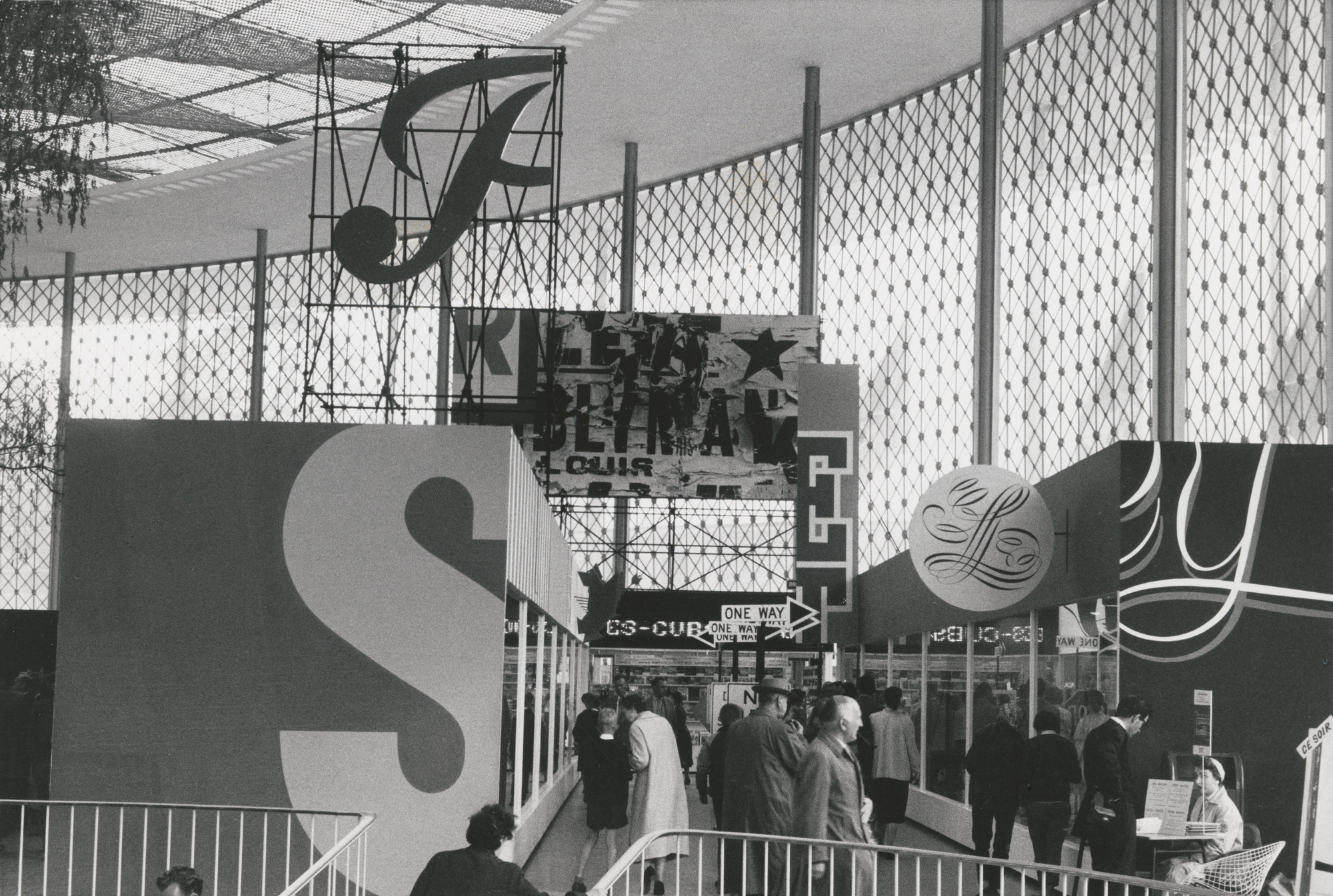 Robert Brownjohn, Ivan Chermayeff, Thomas Geismar. Brussels World Fair (View of the fair). 1958