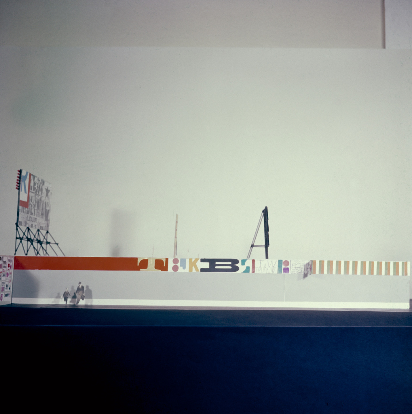 Robert Brownjohn, Ivan Chermayeff, Thomas Geismar. Brussels World Fair (View of the model). 1958