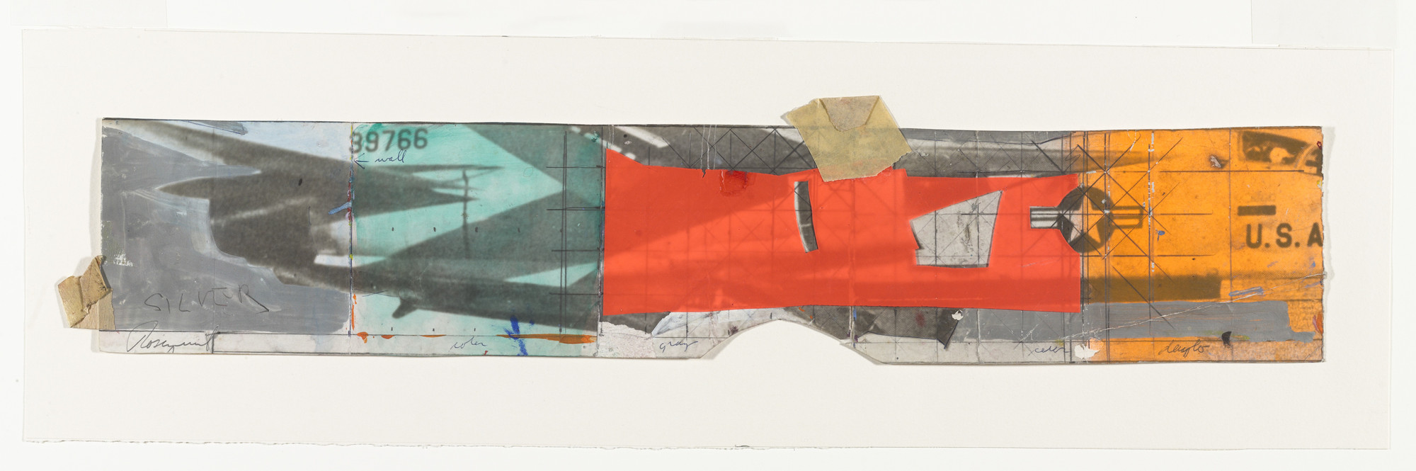 James Rosenquist. Collage for F-111. (1964-65)
