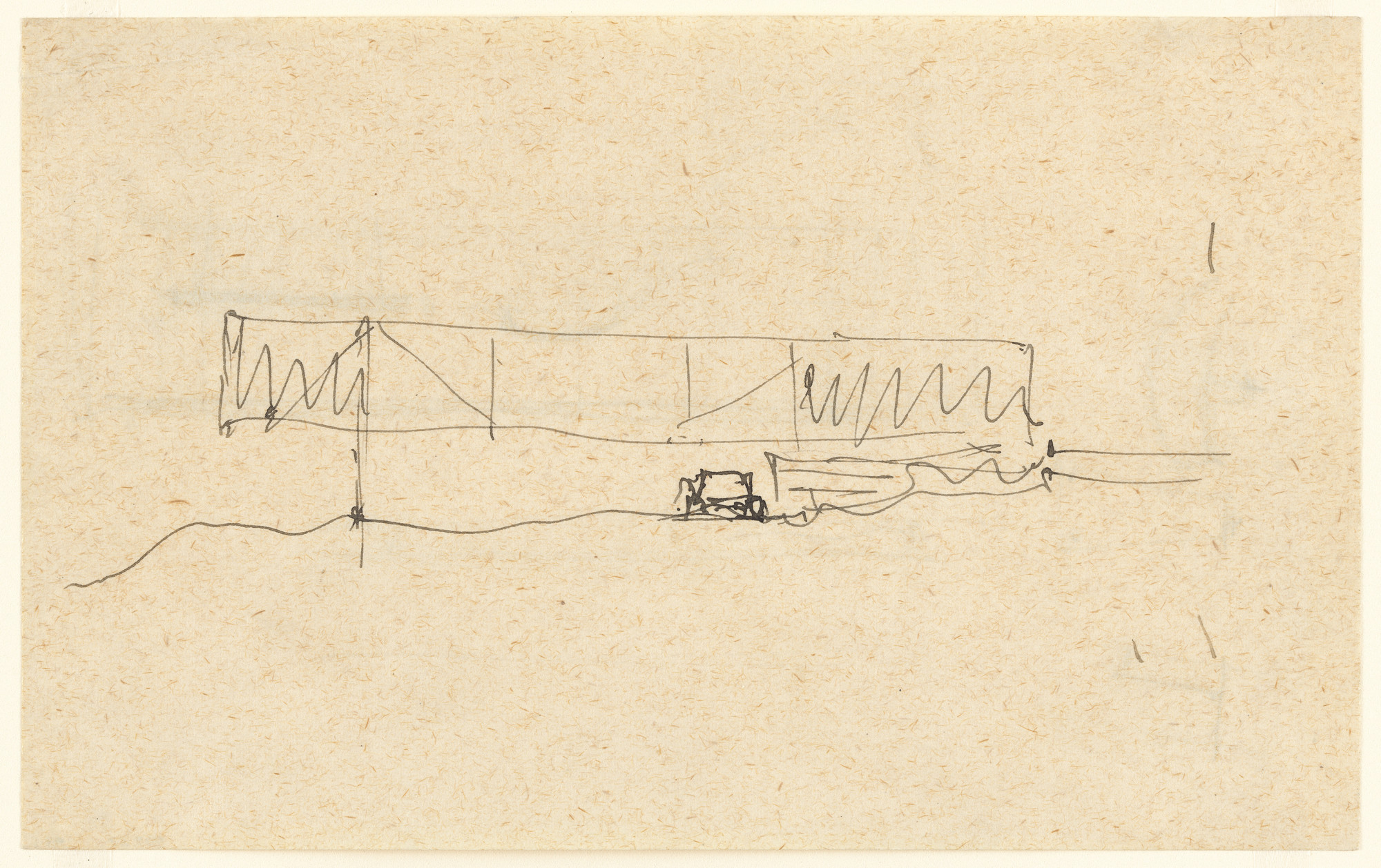Ludwig Mies van der Rohe. Mountain House Studies, No intended site ...