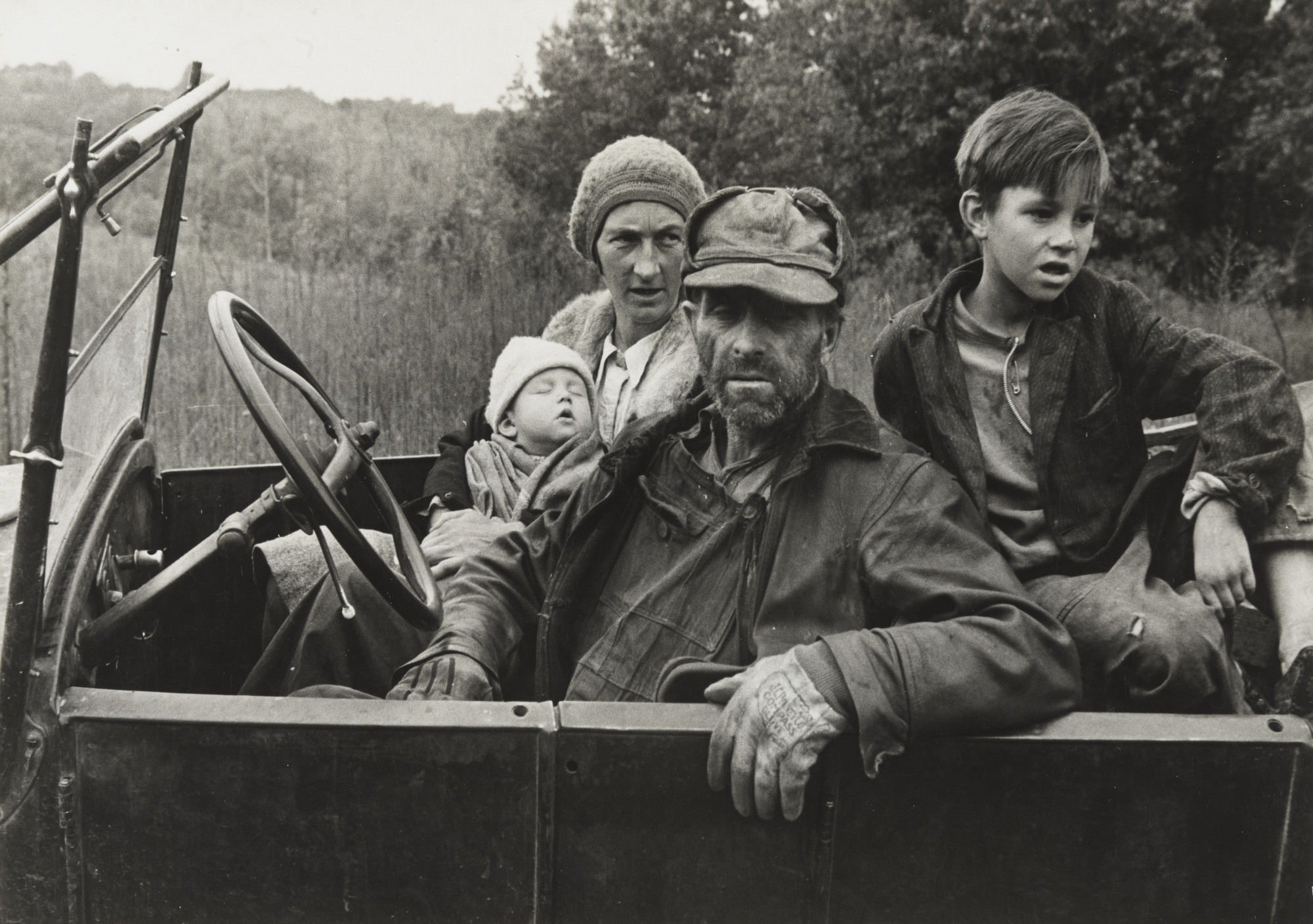Ben Shahn. Ozark Family, Arkansas. 1935
