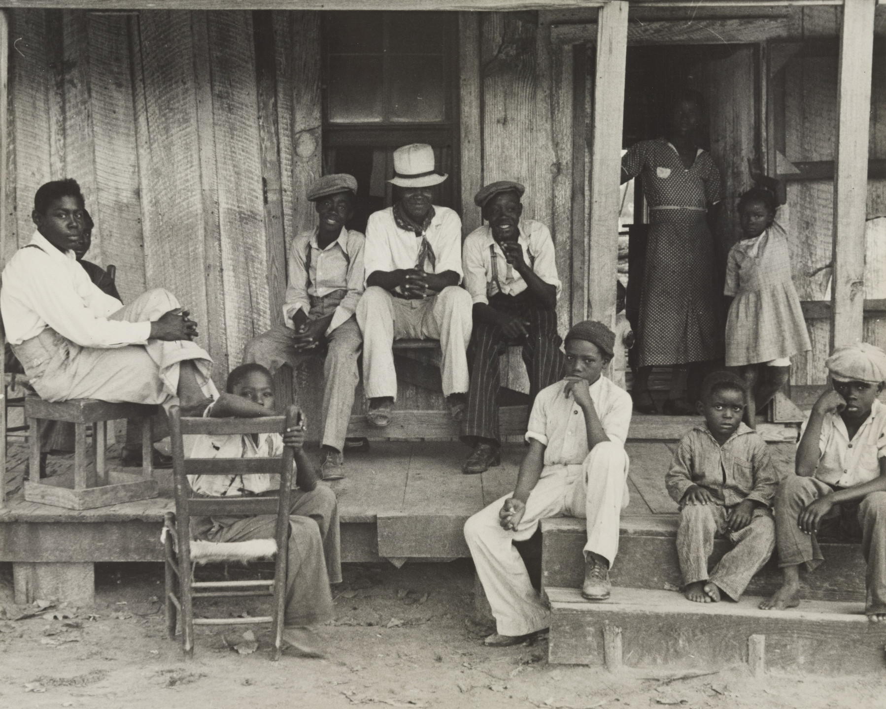 Ben Shahn. Sharecropper's Children, Arkansas. 1935