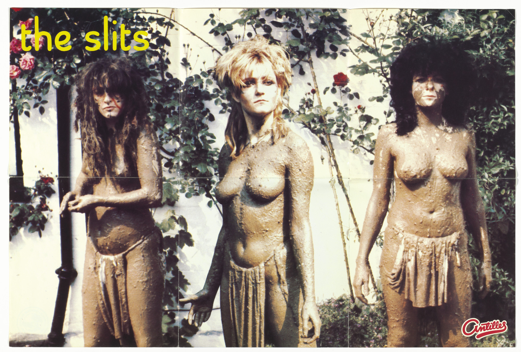 "Bloomfield/Travis, Pennie Smith. Cover for The Slits 7"" single, Typical Girls. 1979"