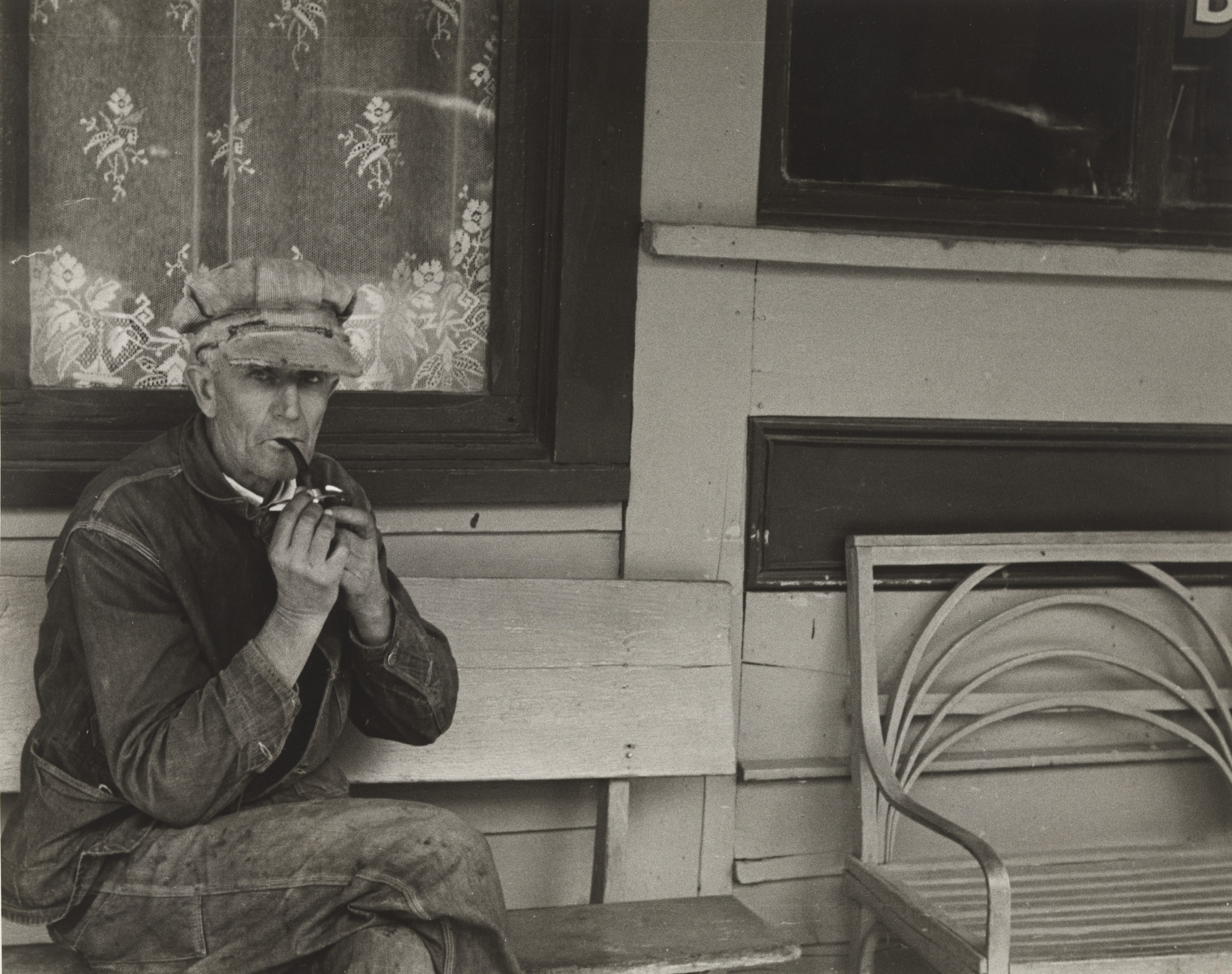 Ben Shahn. Resident of Smithland, KY. September 1935
