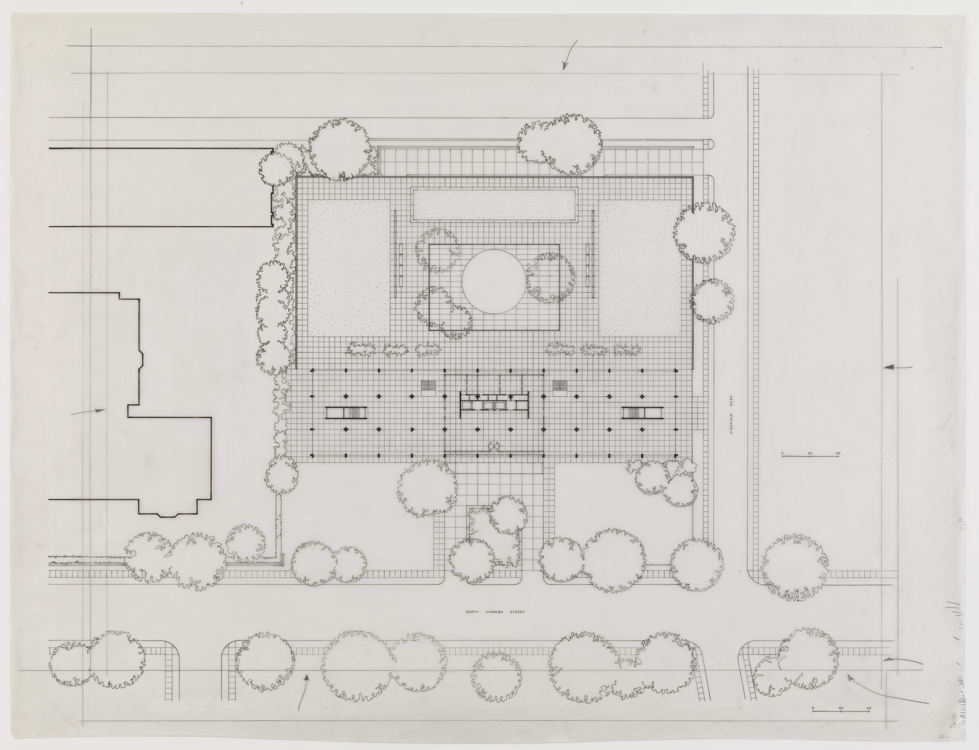 Ludwig Mies van der Rohe. Highfield House Apartments, Baltimore, MD ...