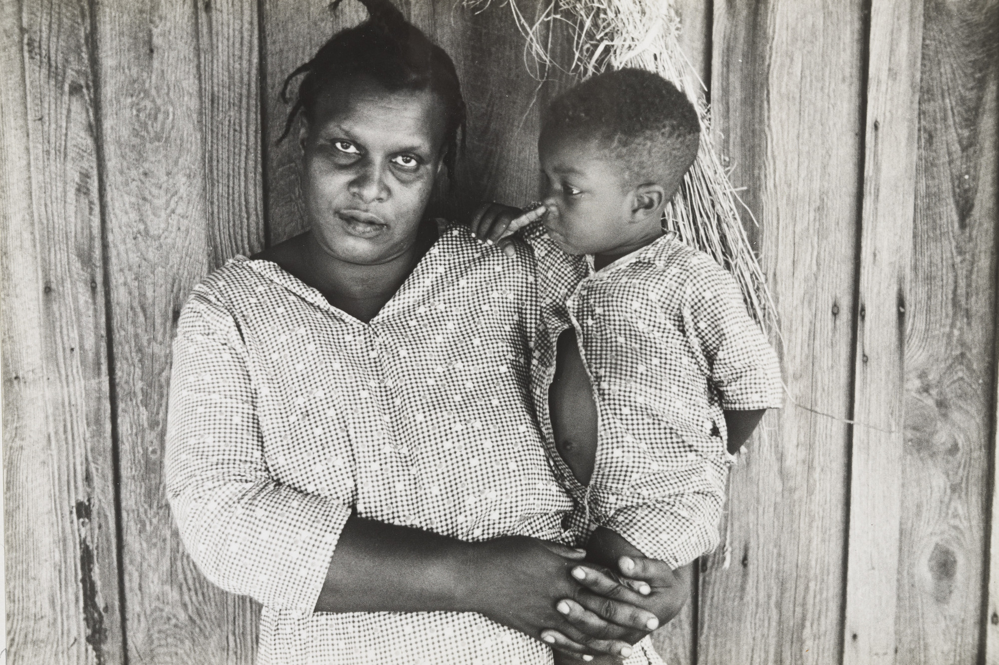 Ben Shahn. Rehabilitation Client, Arkansas, Mother and Child, Arkansas. October 1935