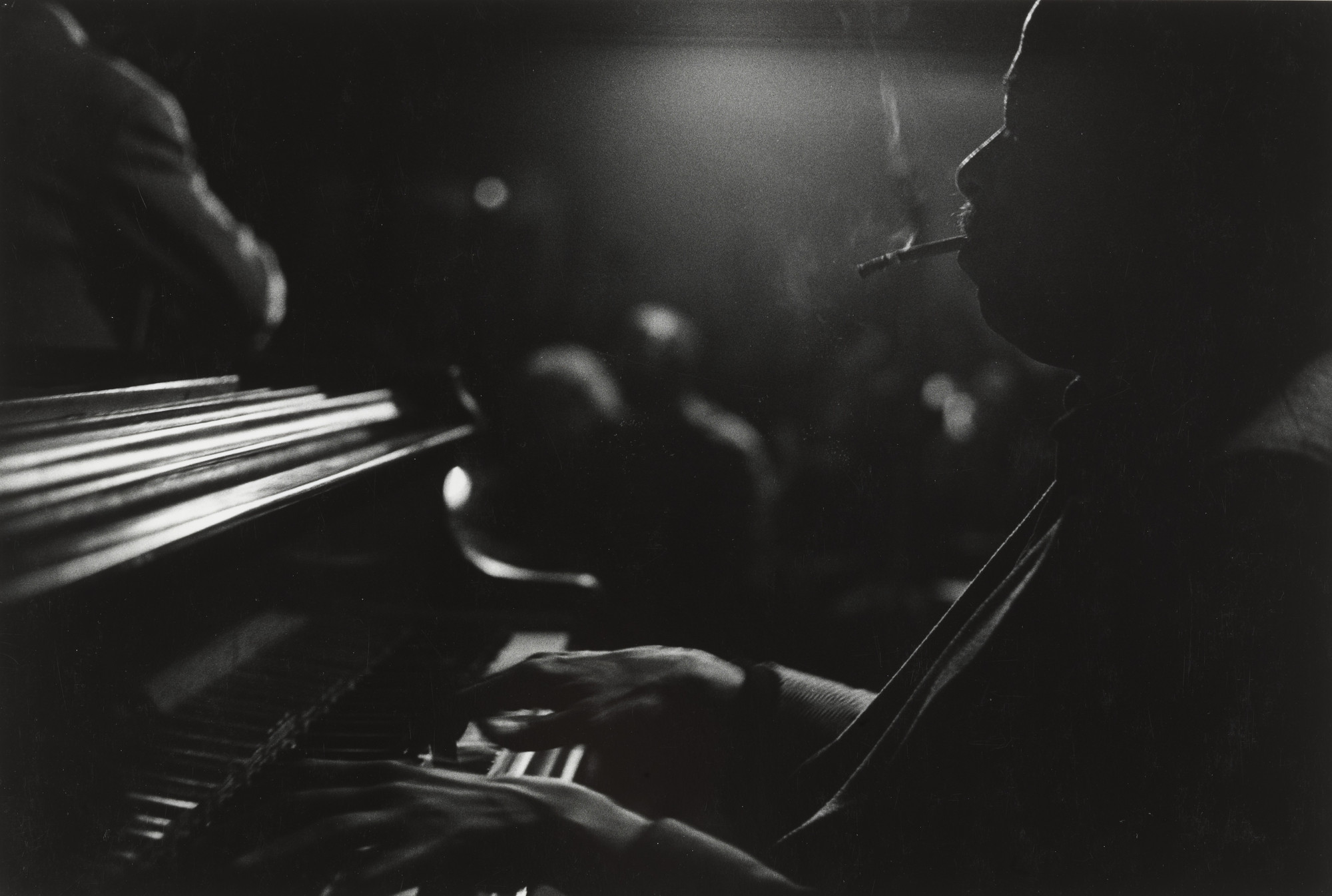 Beuford Smith. Barry Harris, NYC. 1985