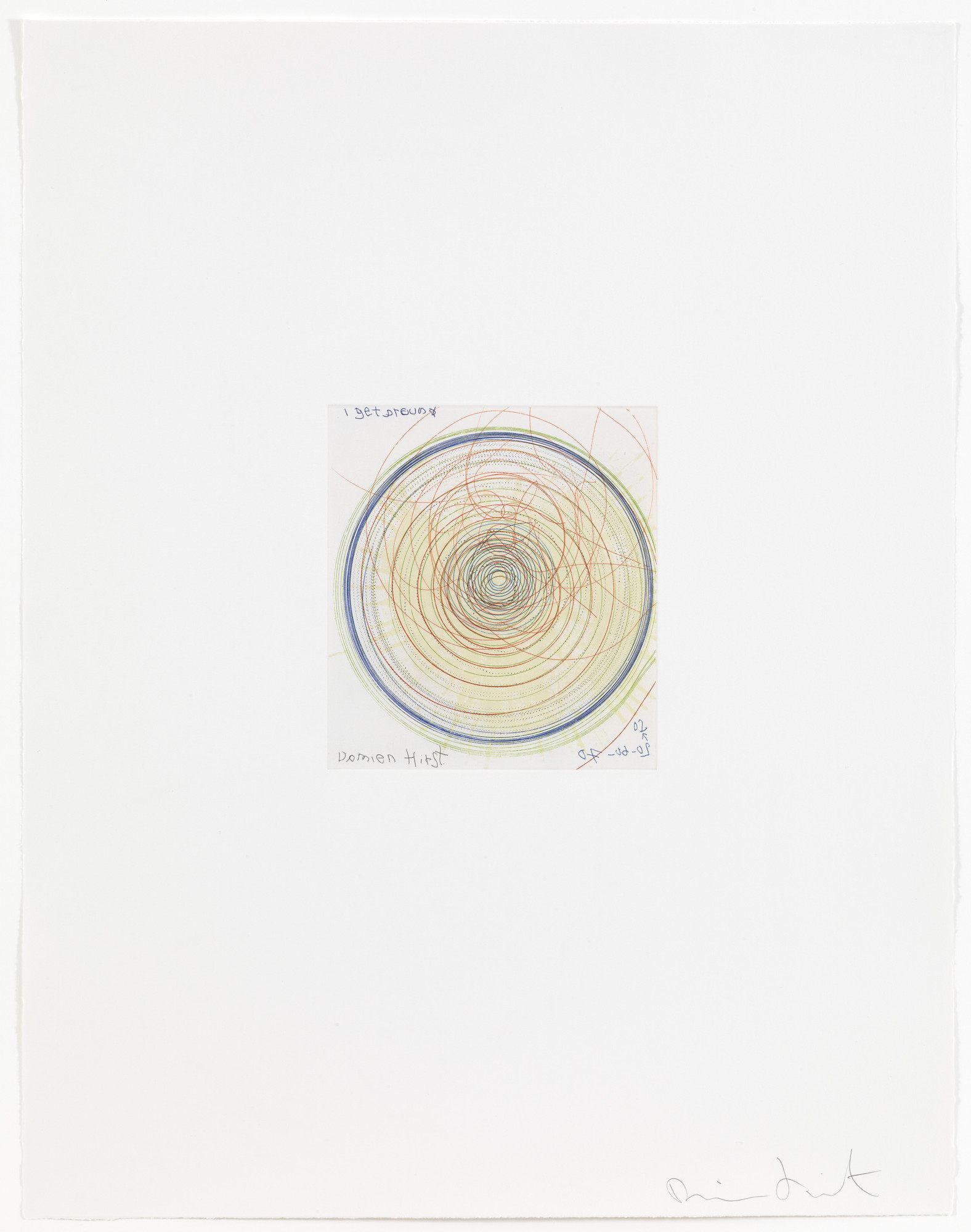 Damien Hirst. I get around from In a Spin, the Action of the World on Things, Volume 1. 2002