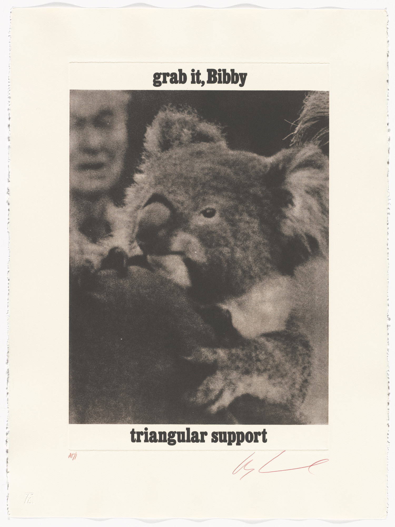 Les Levine. Grab it, Bibby / Triangular Support from the series Brown Bears. 1978