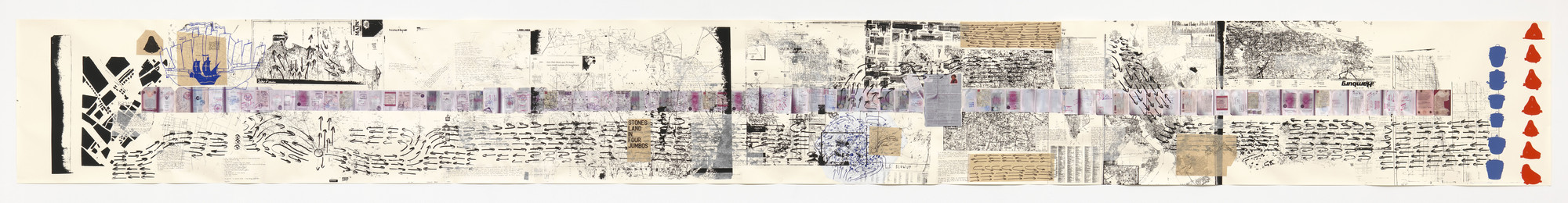 Rirkrit Tiravanija. Untitled 2008-2011 (the map of the land of feeling) I. 2008-11