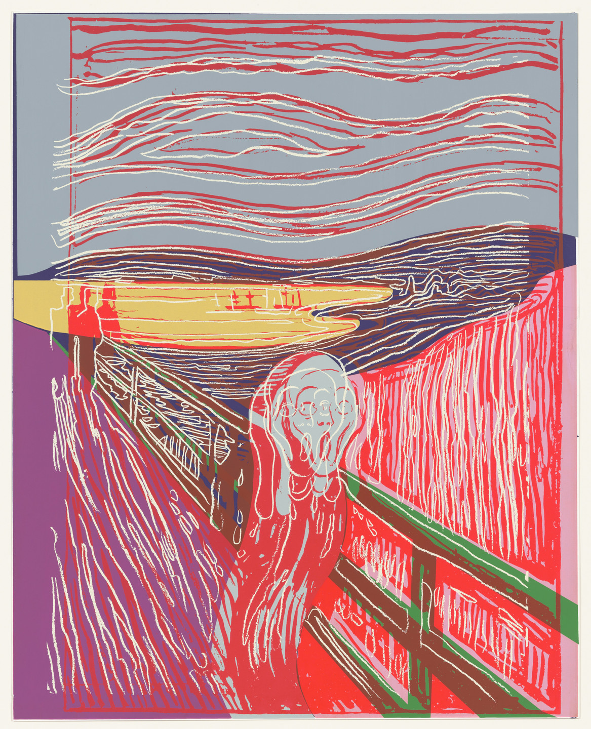Andy Warhol. The Scream (after Munch). 1984