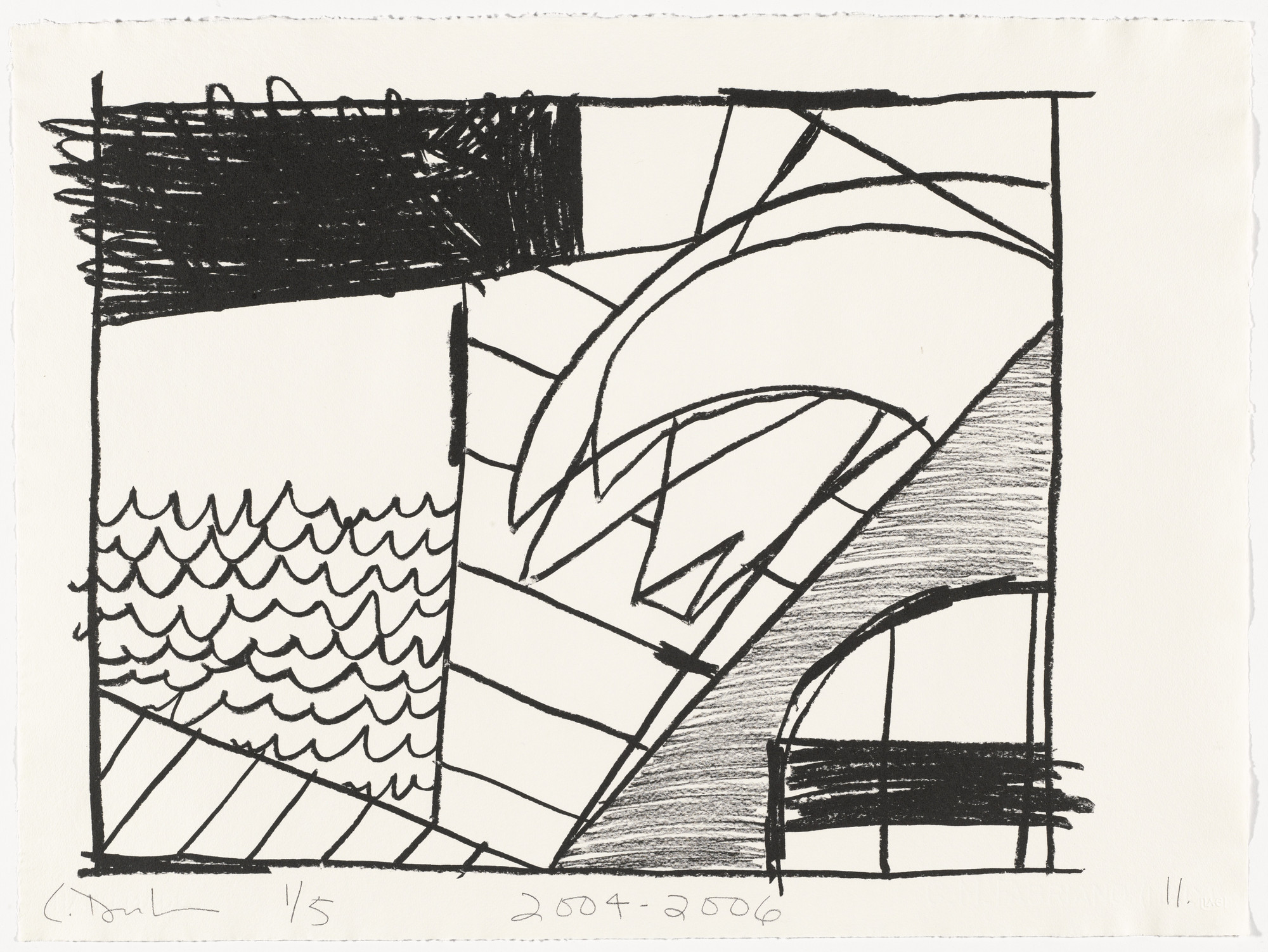 Carroll Dunham. Untitled (11) from Untitled. 2004-06
