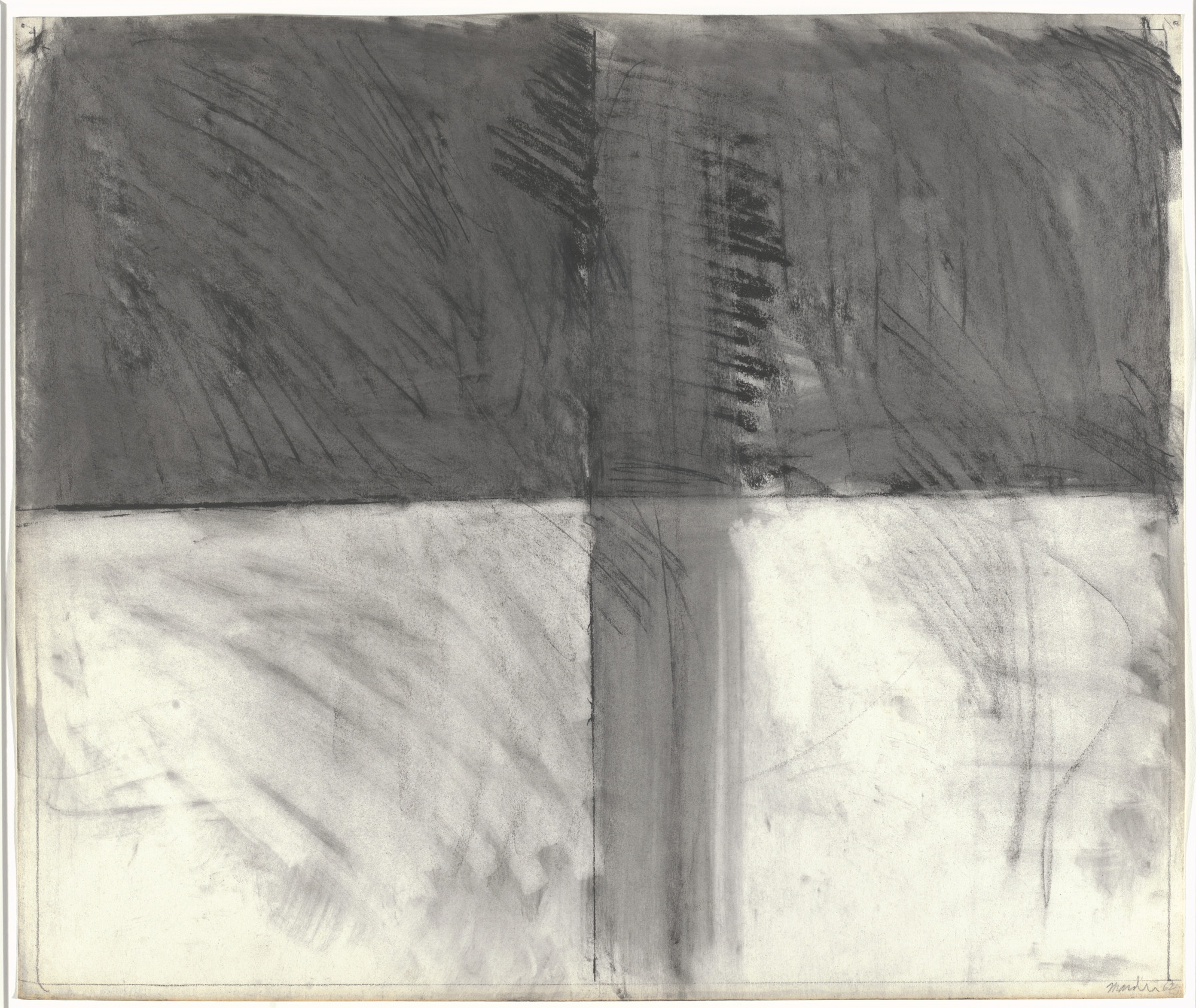 Brice Marden. Untitled. 1962