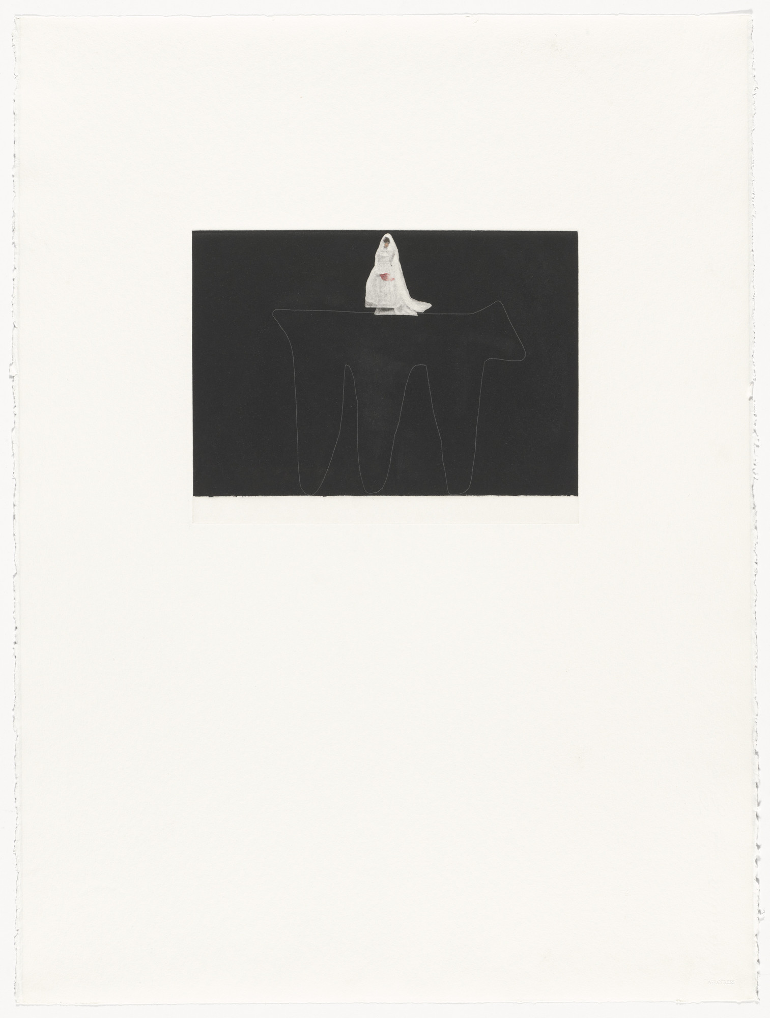 Lois Lane. Untitled from the portfolio Six Aquatints. 1979
