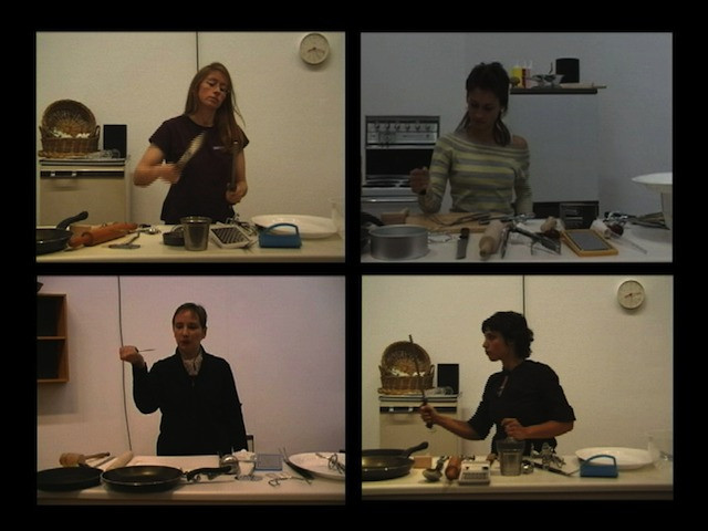 Martha Rosler. Semiotics of the Kitchen: An Audition. 2011