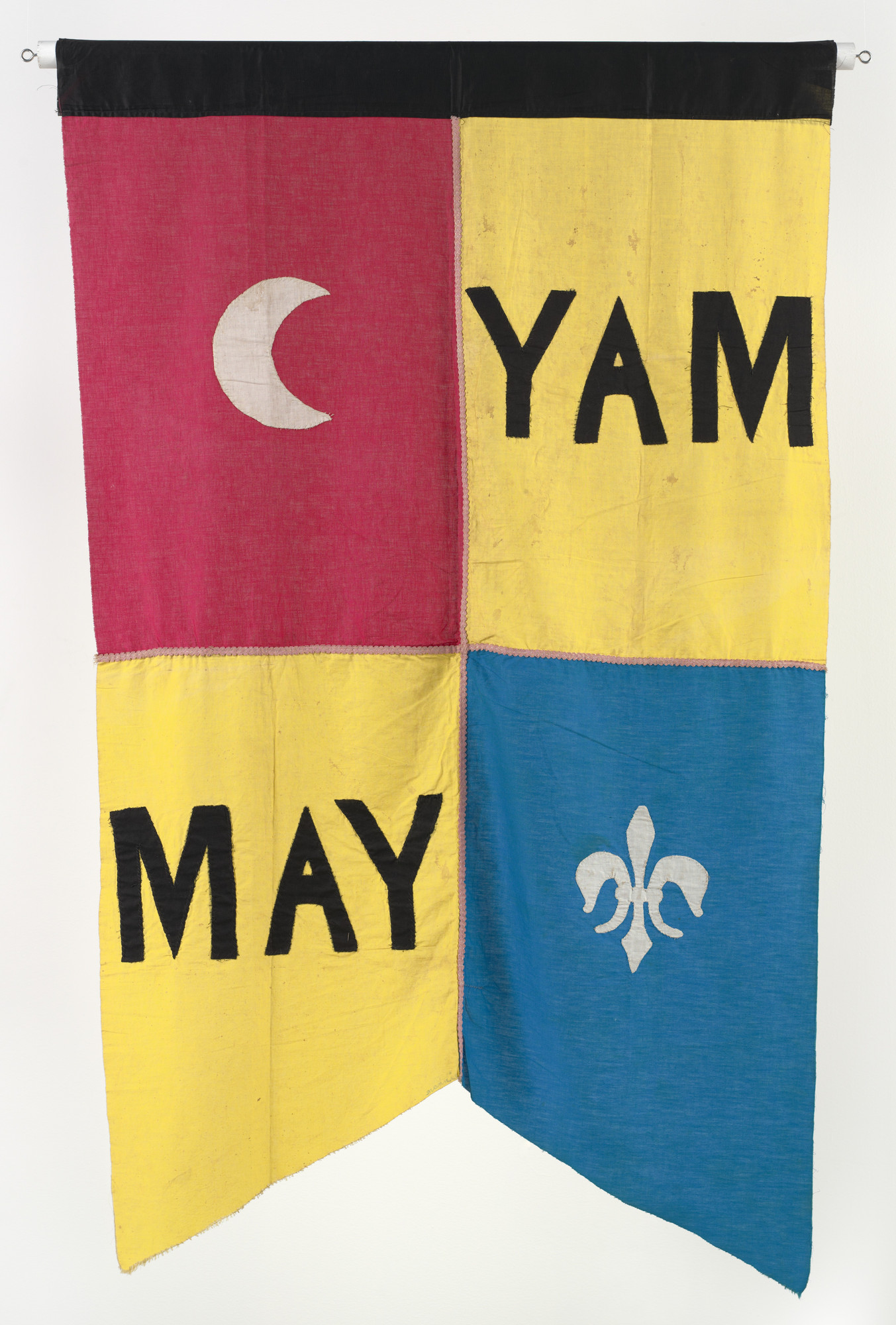 Robert Watts. Banner for Yam Festival/Yam Day. 1963