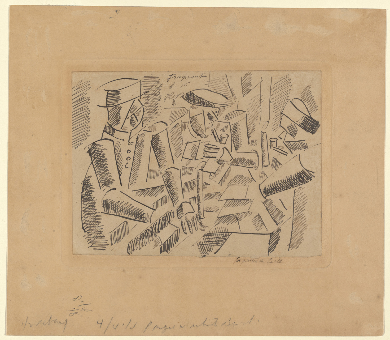 Fernand Léger. The Game of Cards. 1916
