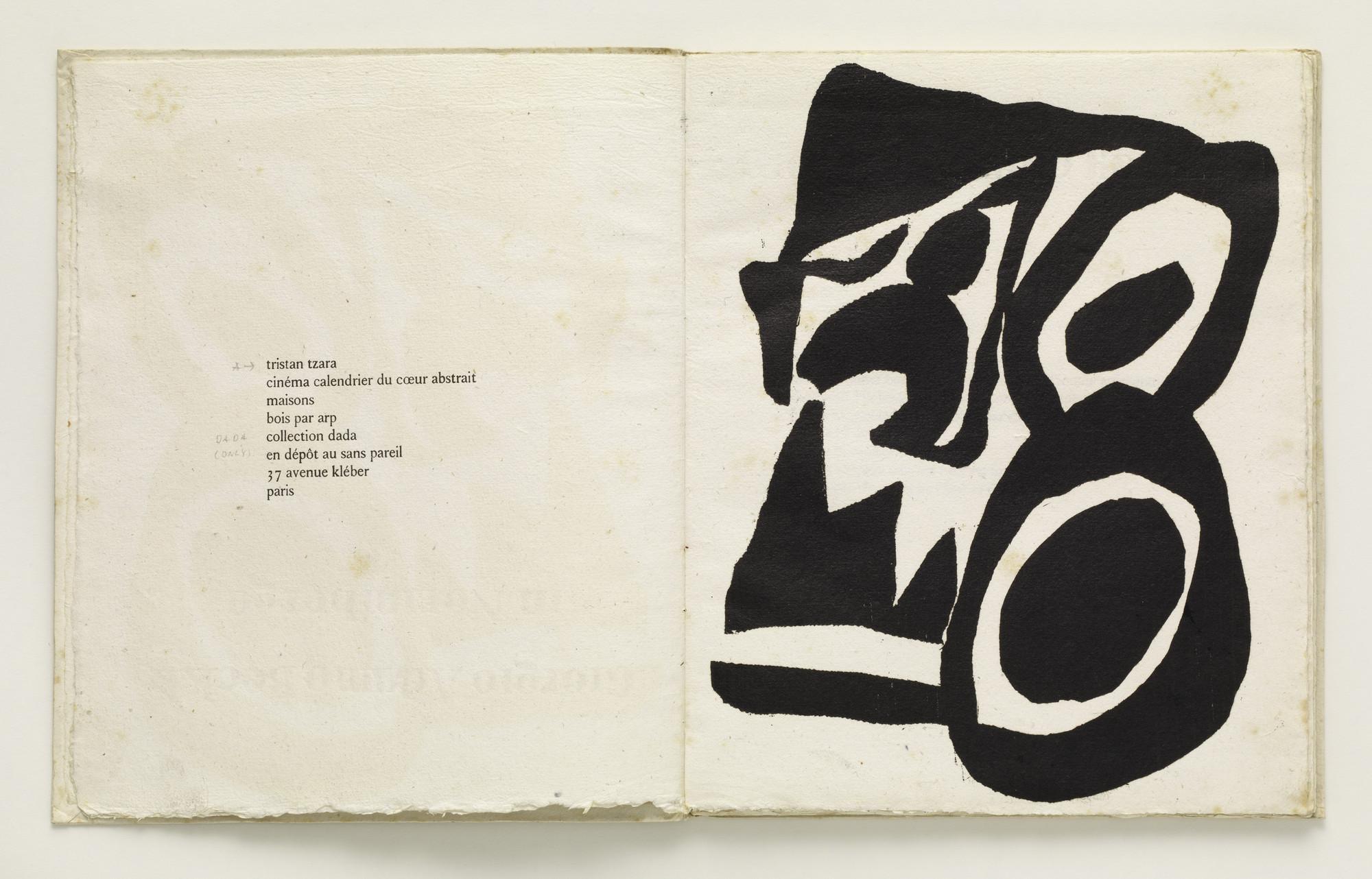 Illustration Calendrier.Jean Hans Arp Cinema Calendrier Du Coeur Abstrait
