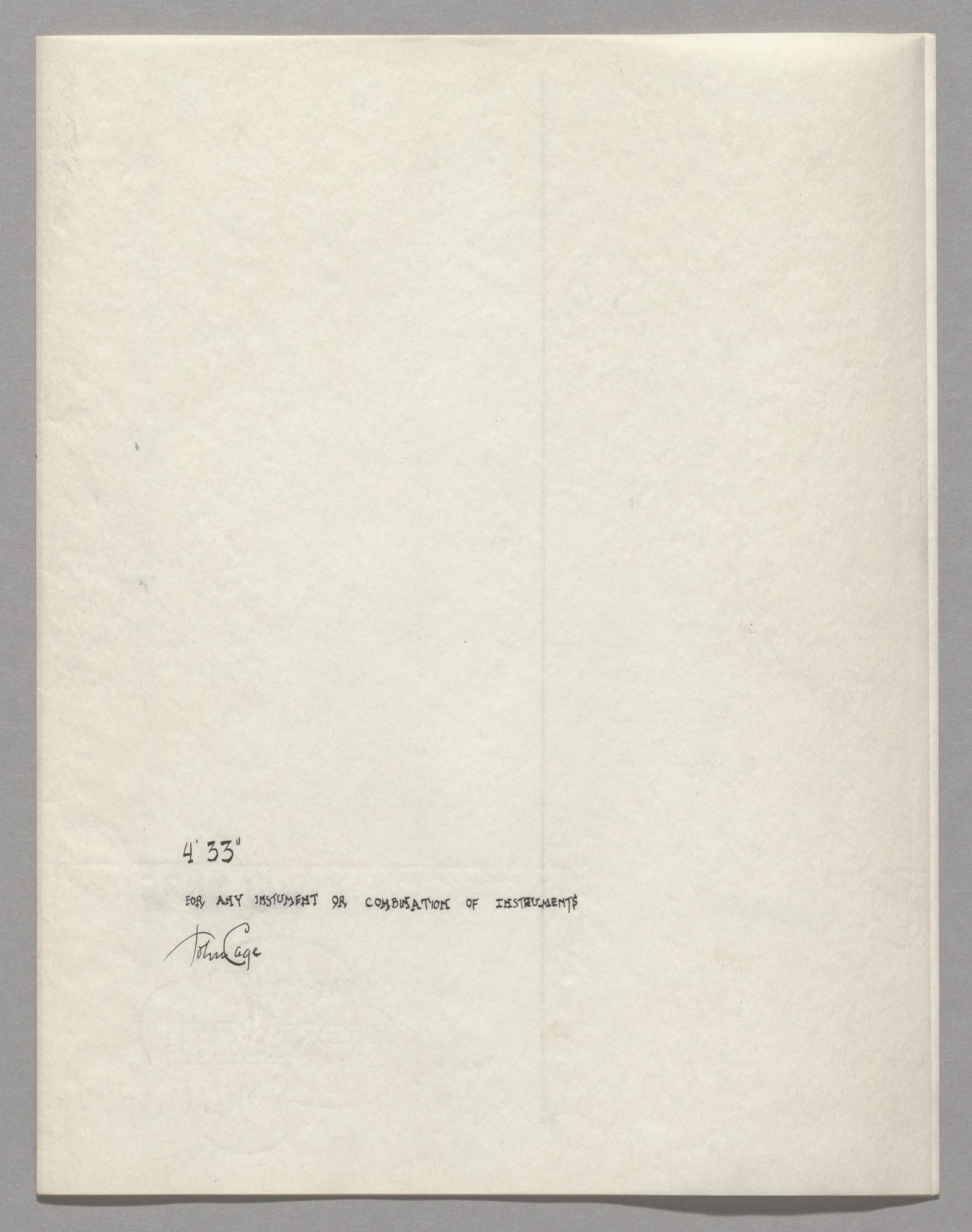 John Cage. 21&21;21