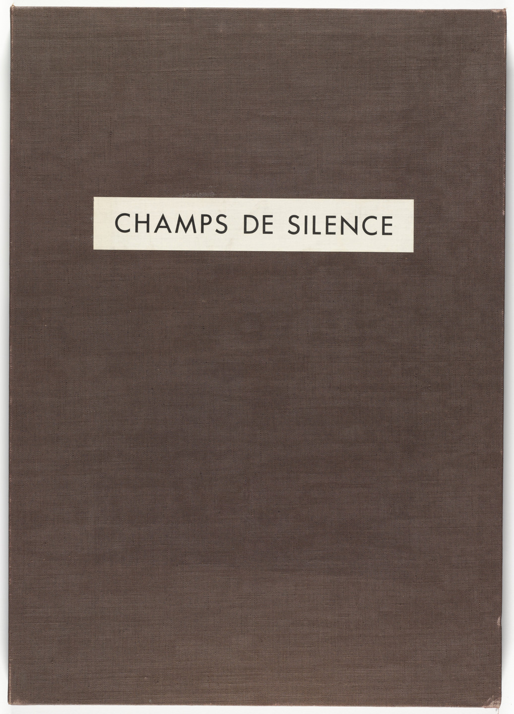 Jean Dubuffet. Fields of Silence (Champs de silence) from Phenomena (Les Phénomènes). 1959