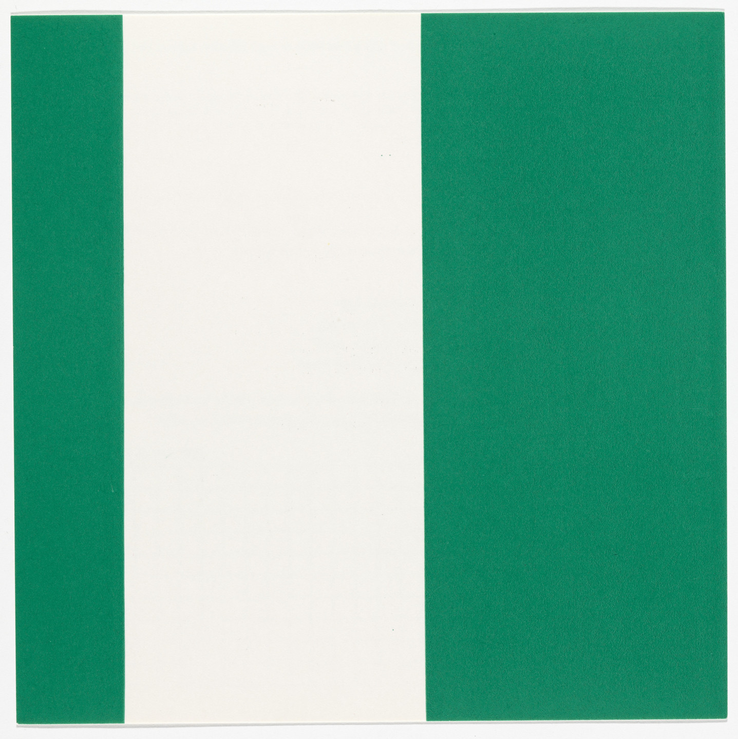 Daniel Buren. 1000 Placements from the Rubber Stamp Portfolio. 1977