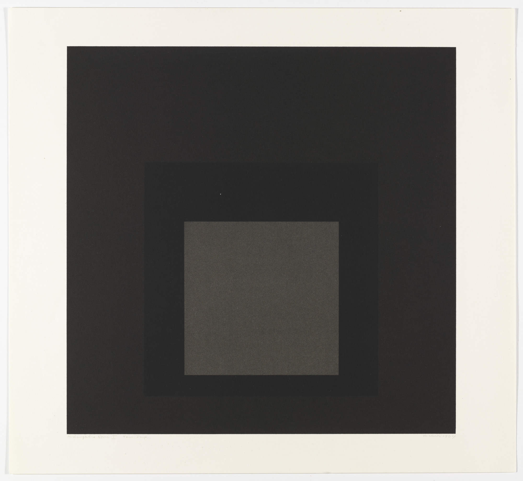 Josef Albers. Midnight + Noon I from Midnight and Noon. 1964