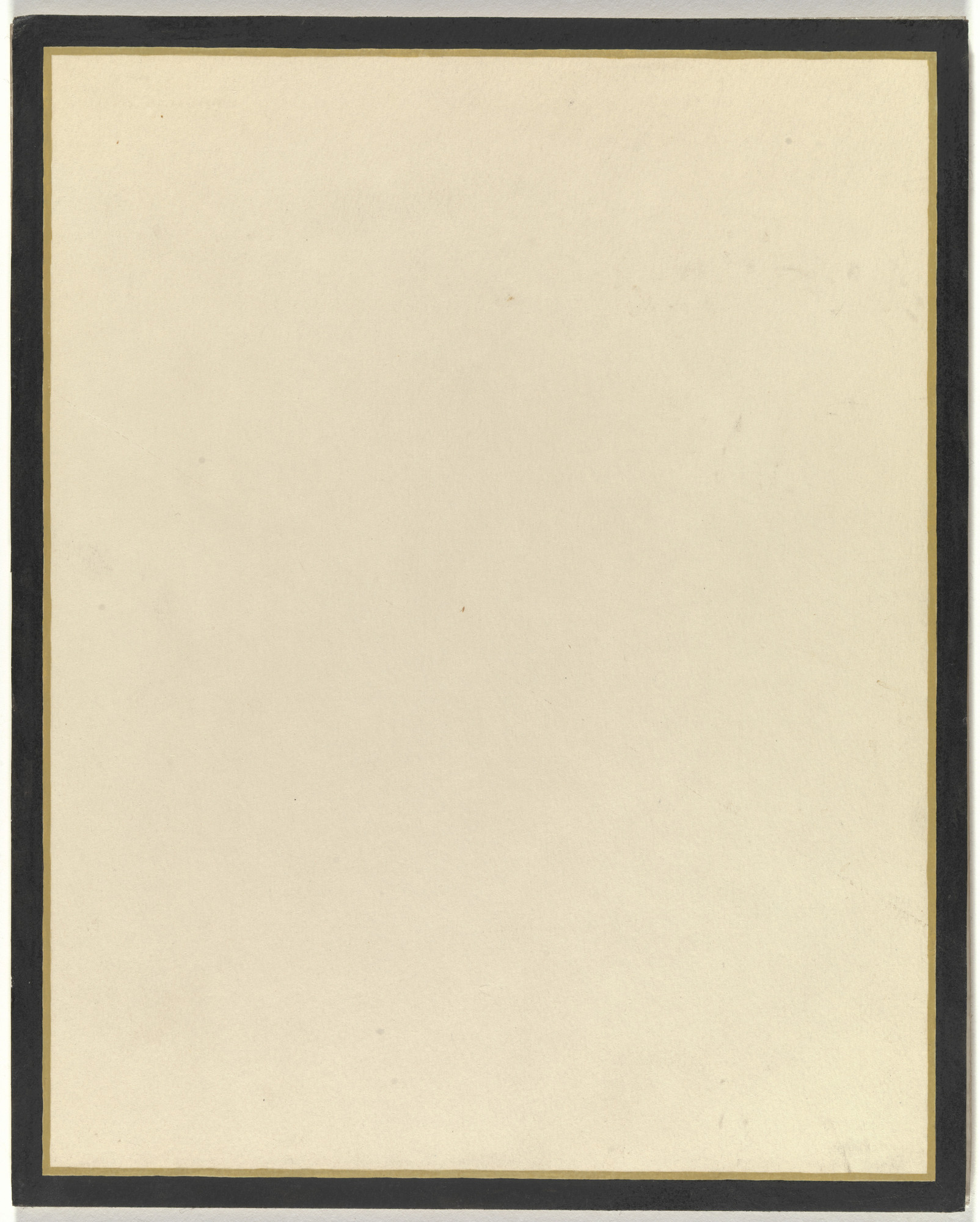 Jo Baer. Yellow - Sombre. 1965