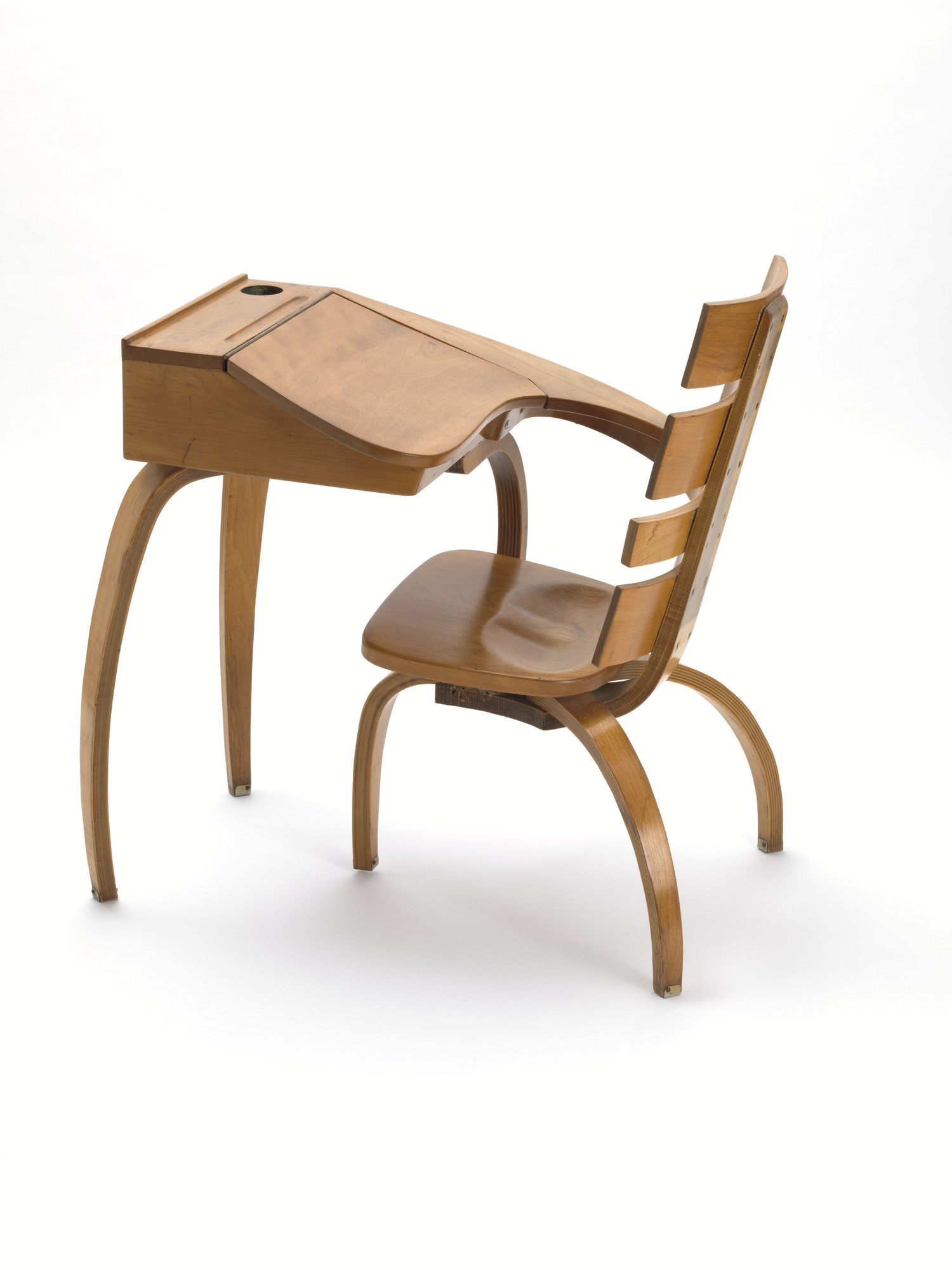frederick markus paul nocka prototype desk for the bowditch school salem ma 1946 moma frederick markus paul nocka prototype