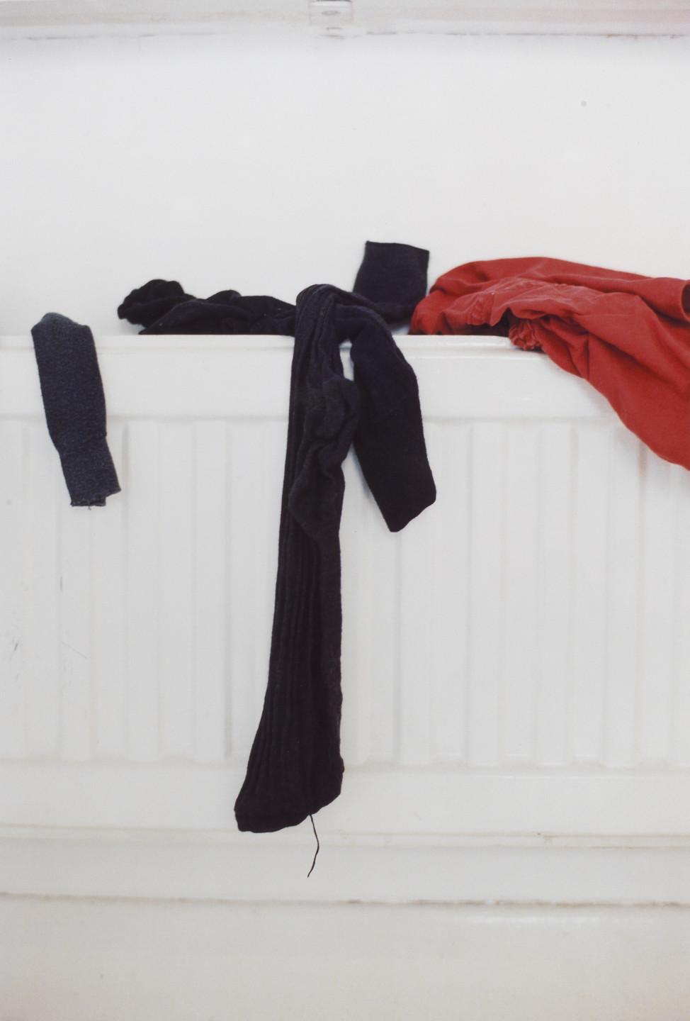Wolfgang Tillmans. socks on radiator. 1998
